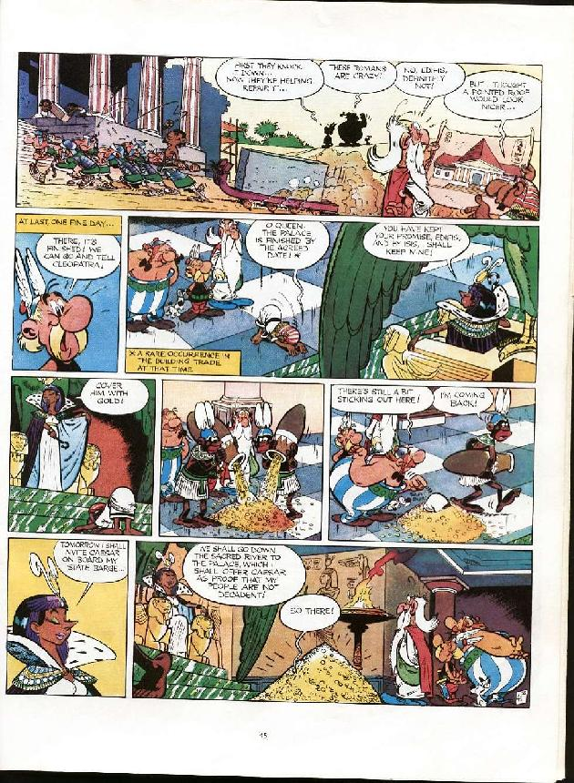 Read online Asterix comic -  Issue #6 - 42