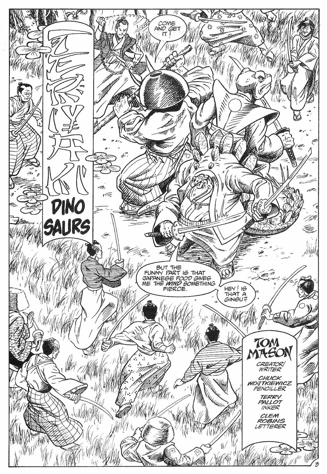 Dinosaurs For Hire (1988) issue 8 - Page 5