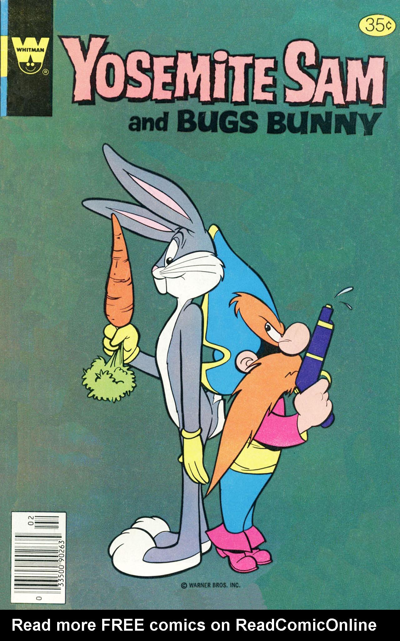 Yosemite Sam and Bugs Bunny 58 Page 1