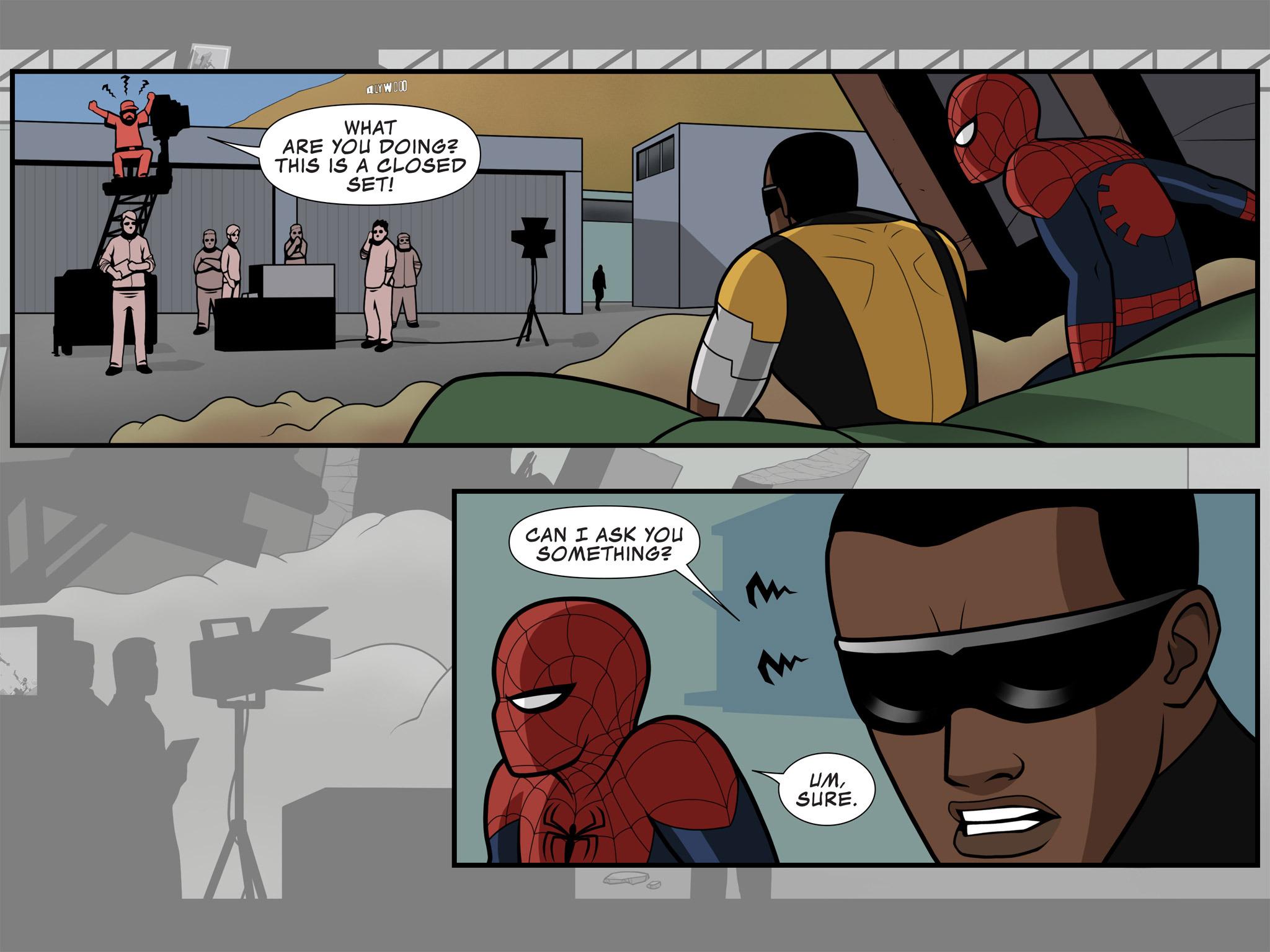 Read online Ultimate Spider-Man (Infinite Comics) (2015) comic -  Issue #10 - 17