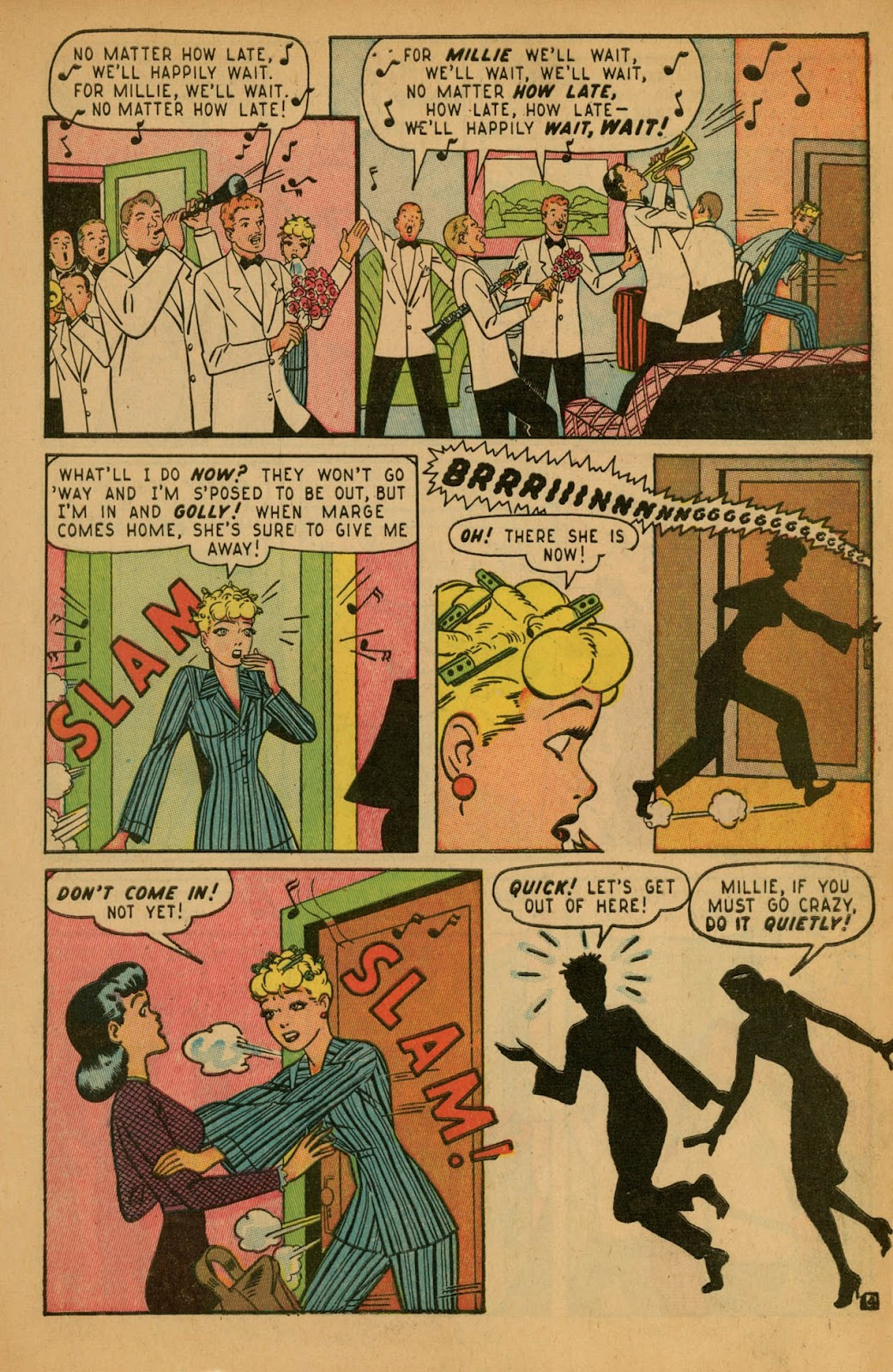 Read online Millie the Model comic -  Issue #7 - 7