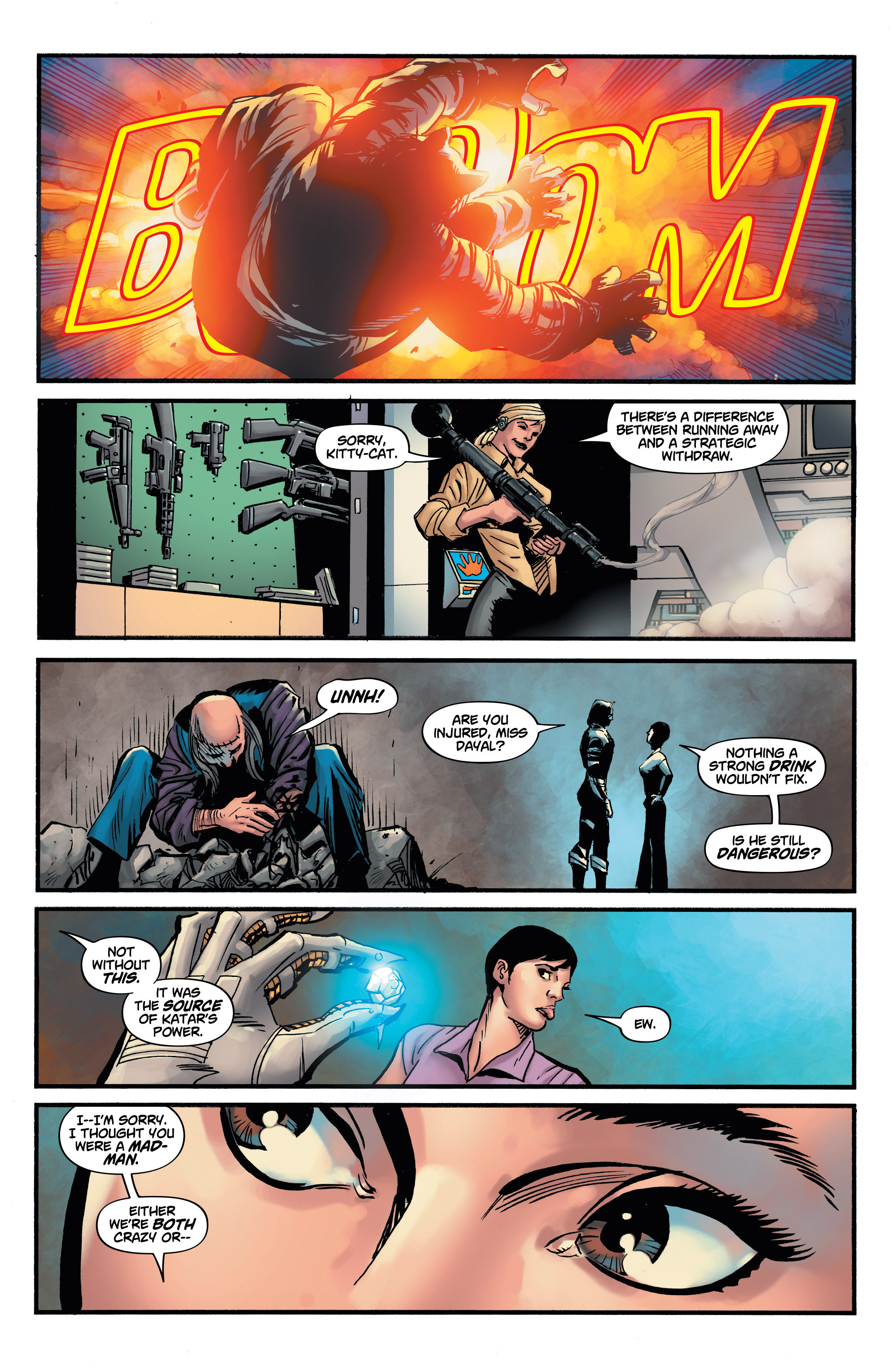 Read online Shadow Tiger comic -  Issue #4 - 12