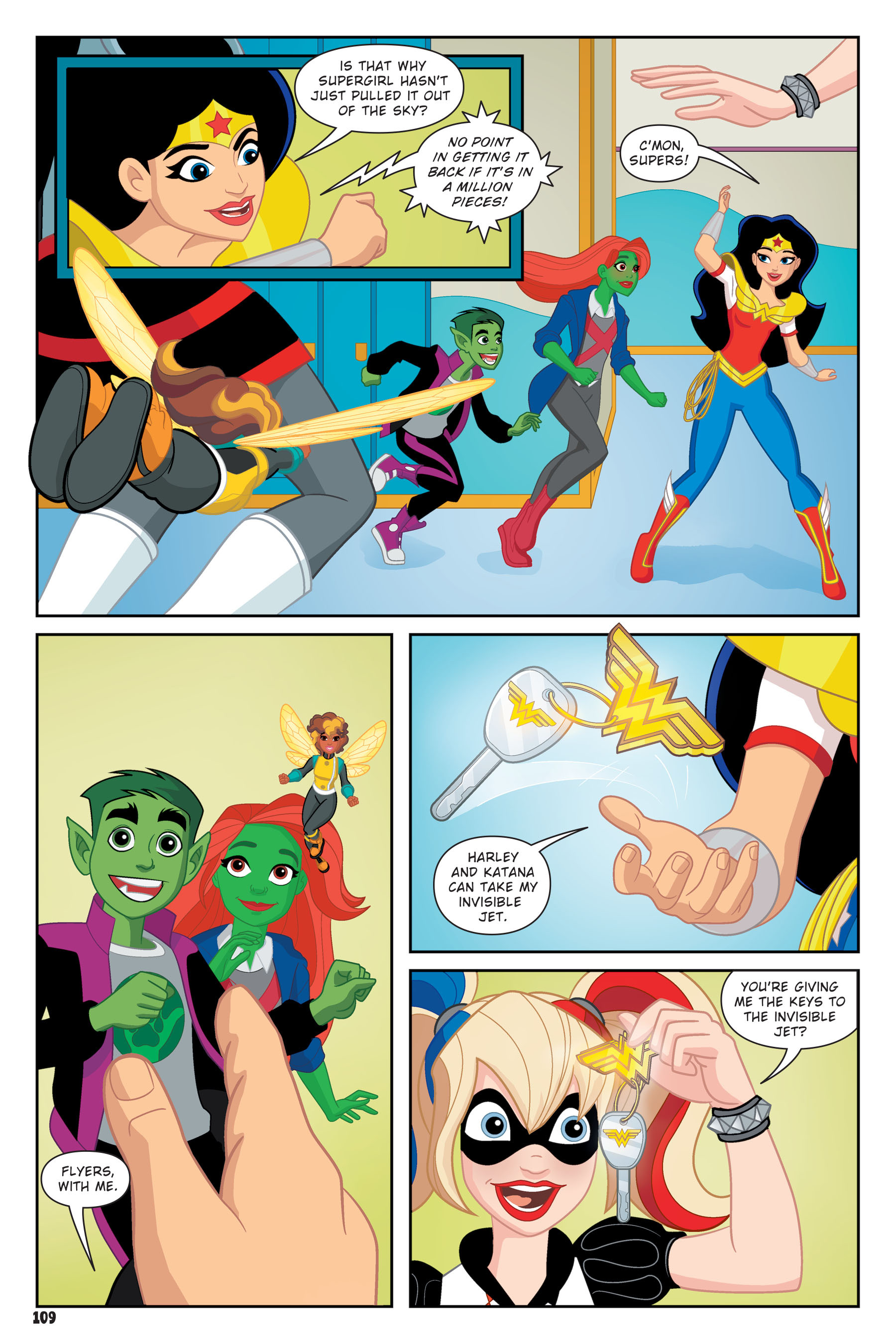 Read online DC Super Hero Girls: Hits and Myths comic -  Issue # Full - 105