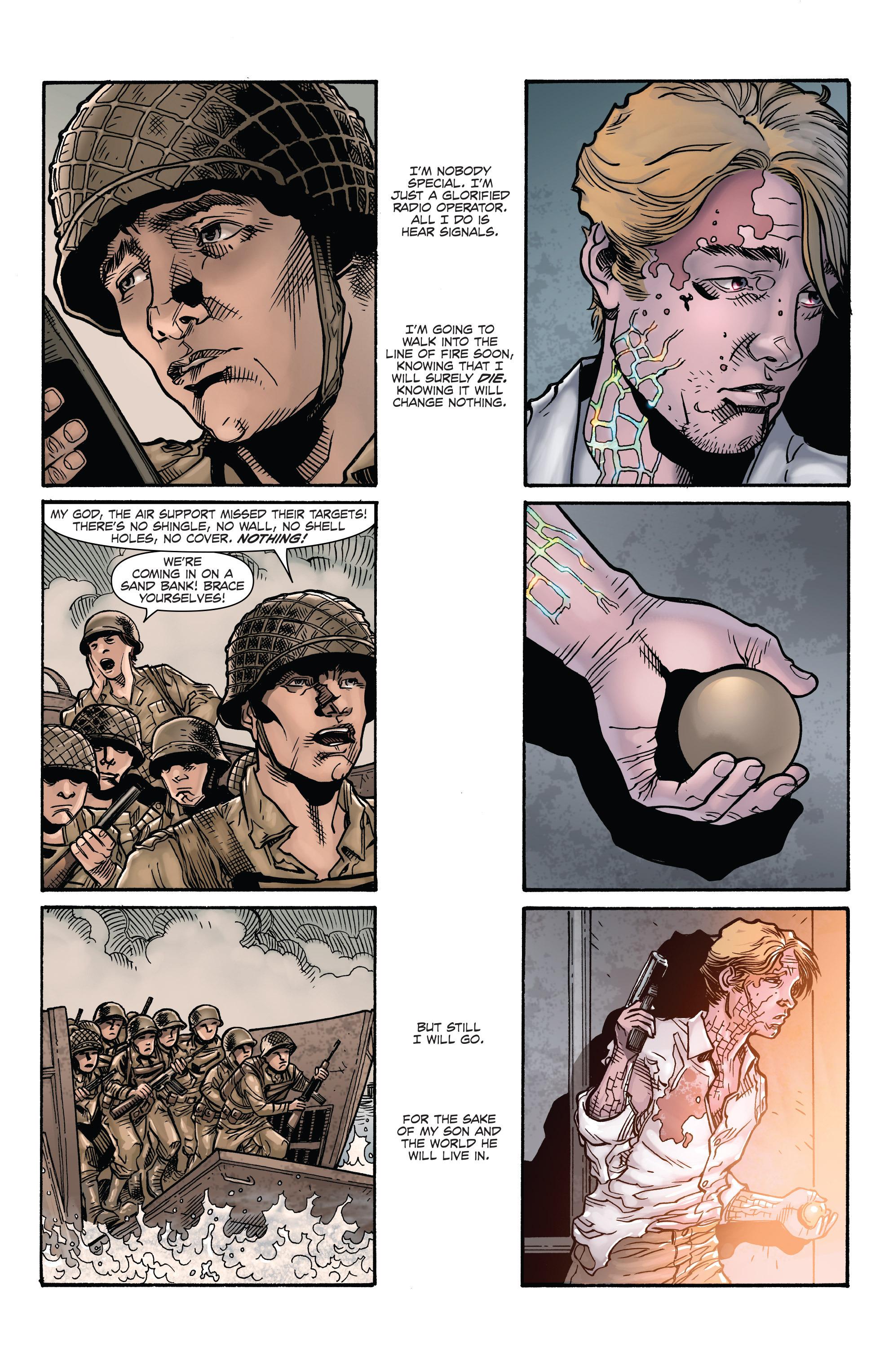 Read online Aftershock Genesis comic -  Issue #1 - 9