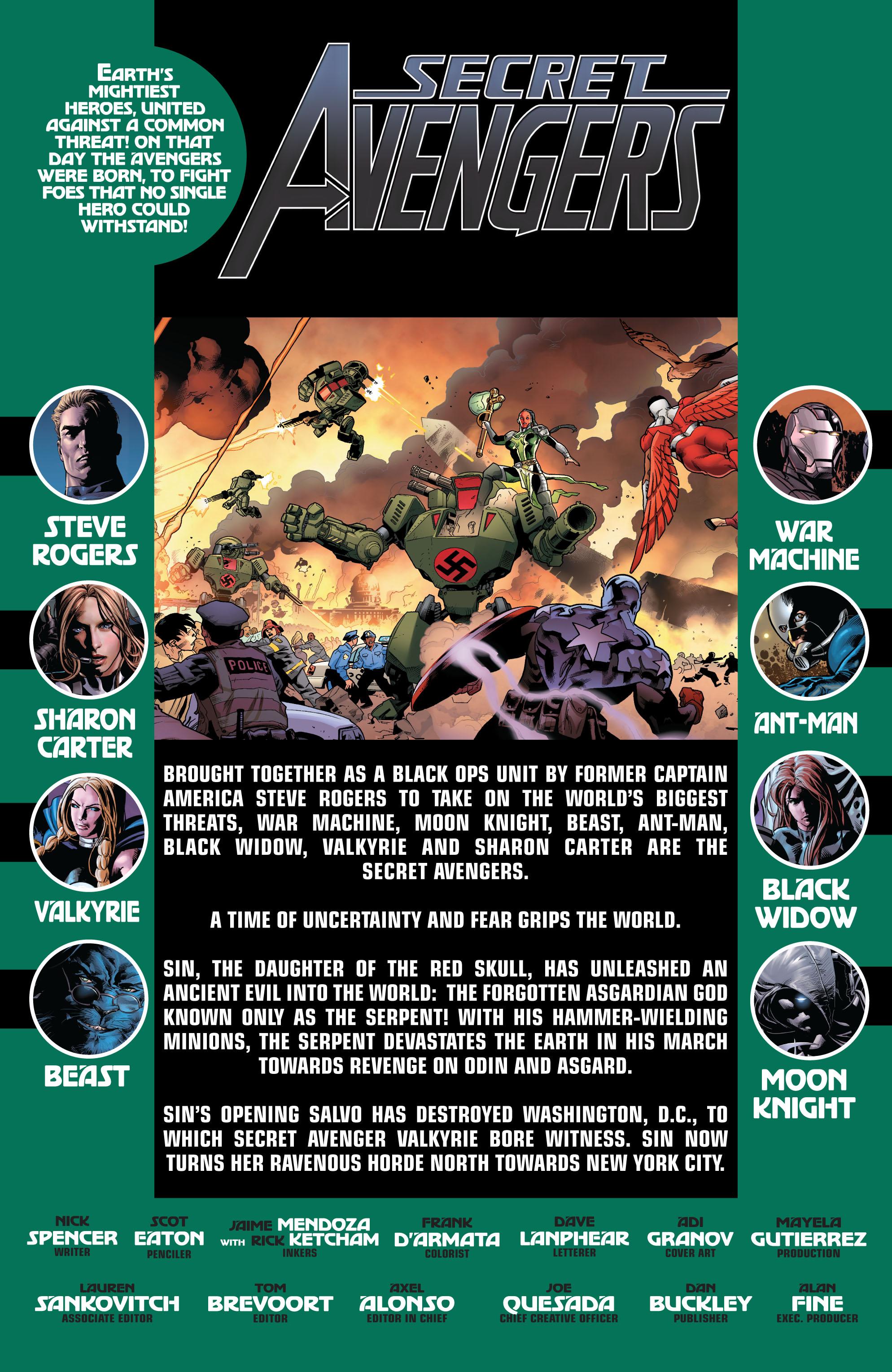 Read online Secret Avengers (2010) comic -  Issue #14 - 2