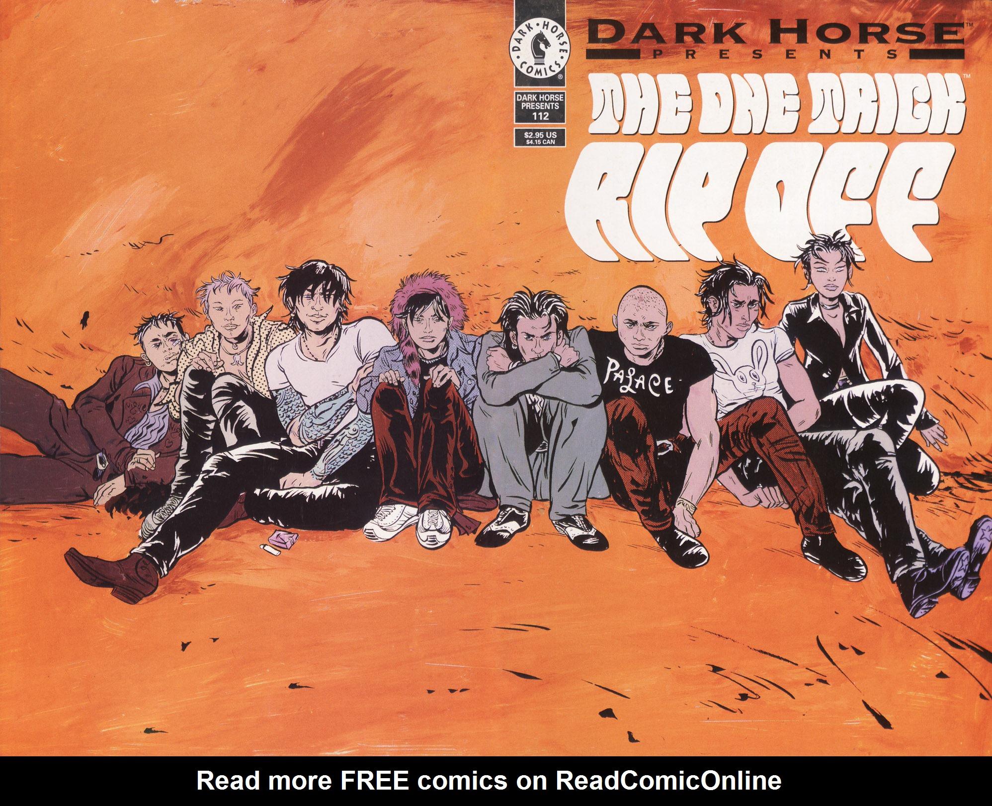 Dark Horse Presents (1986) 112 Page 1