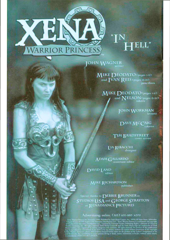 Read online Xena: Warrior Princess (1999) comic -  Issue #3 - 3