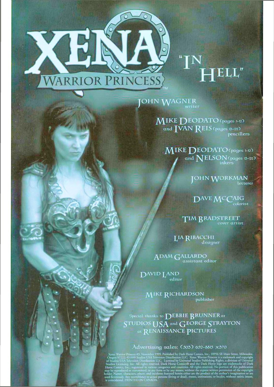Xena: Warrior Princess (1999) Issue #3 #3 - English 3