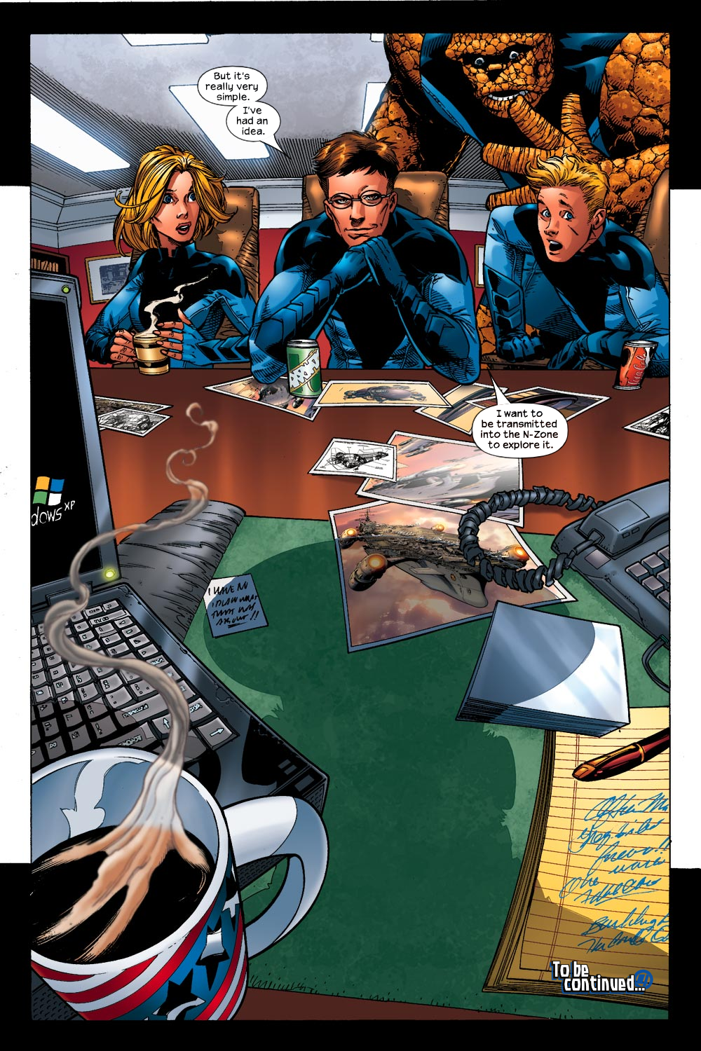 Read online Ultimate Fantastic Four (2004) comic -  Issue #13 - 23