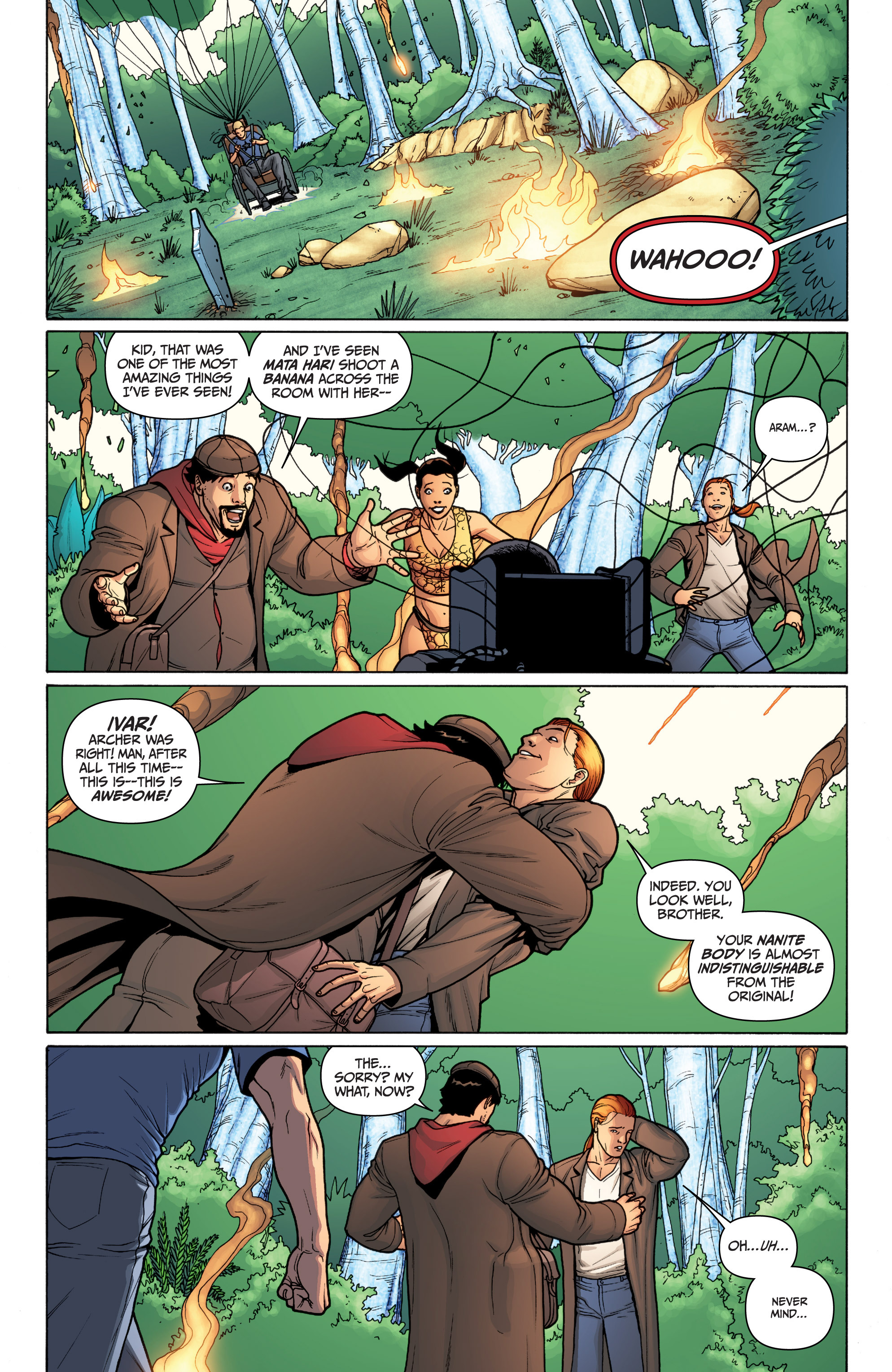 Read online Archer and Armstrong comic -  Issue #Archer and Armstrong _TPB 3 - 113