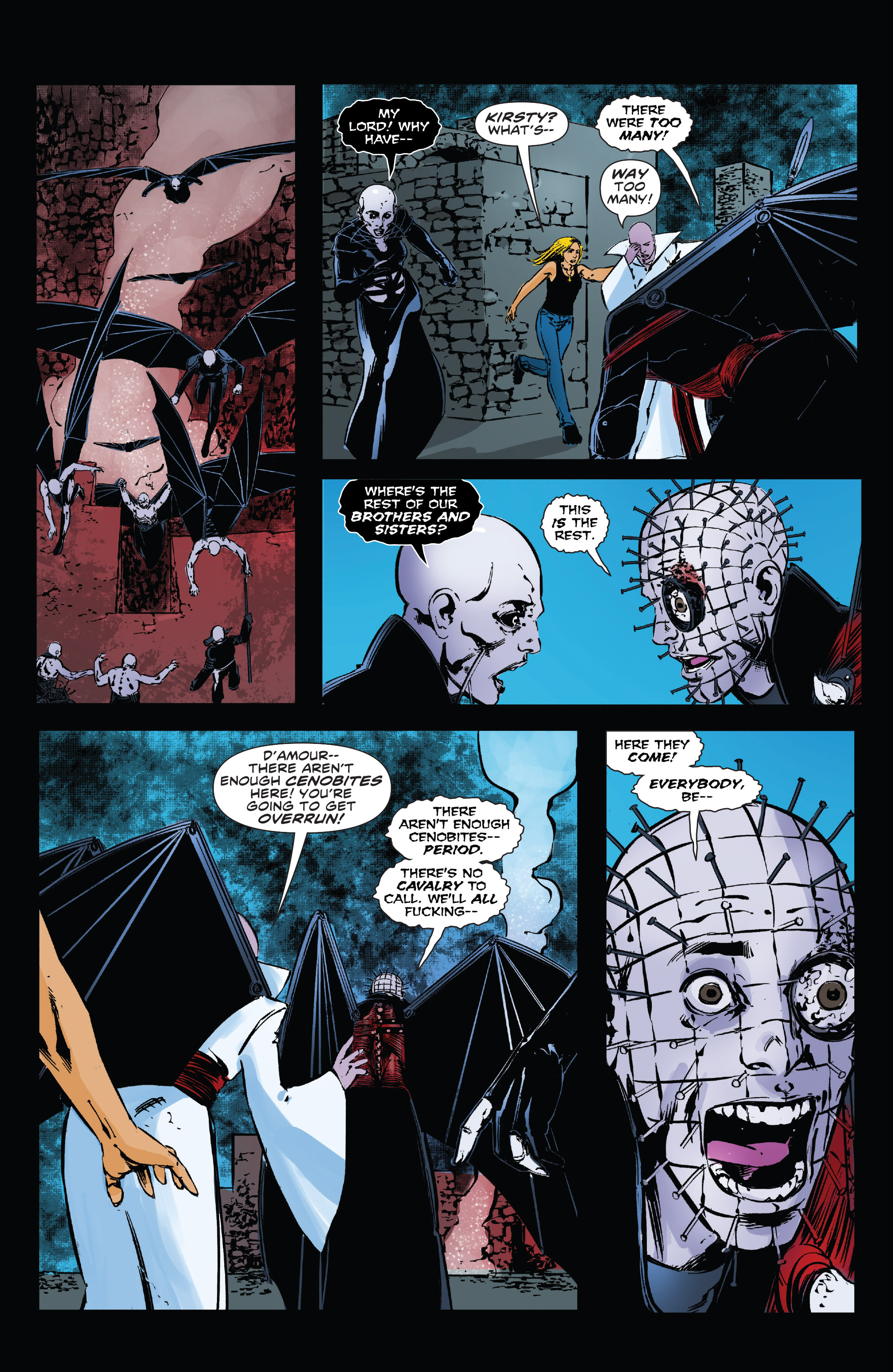 Read online Clive Barker's Hellraiser: The Dark Watch comic -  Issue # TPB 3 - 78