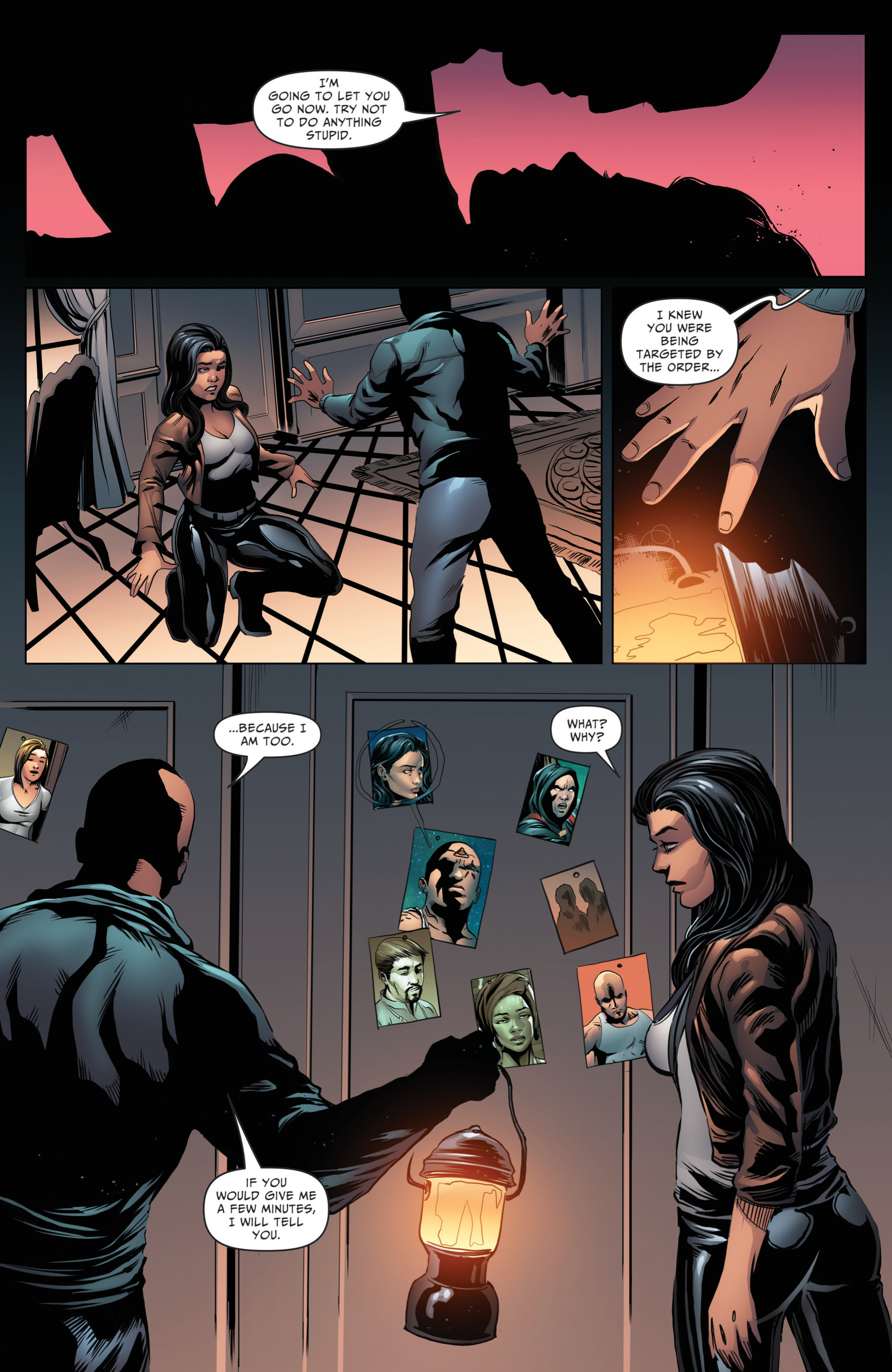 Read online Grimm Fairy Tales: Day of the Dead comic -  Issue #4 - 7