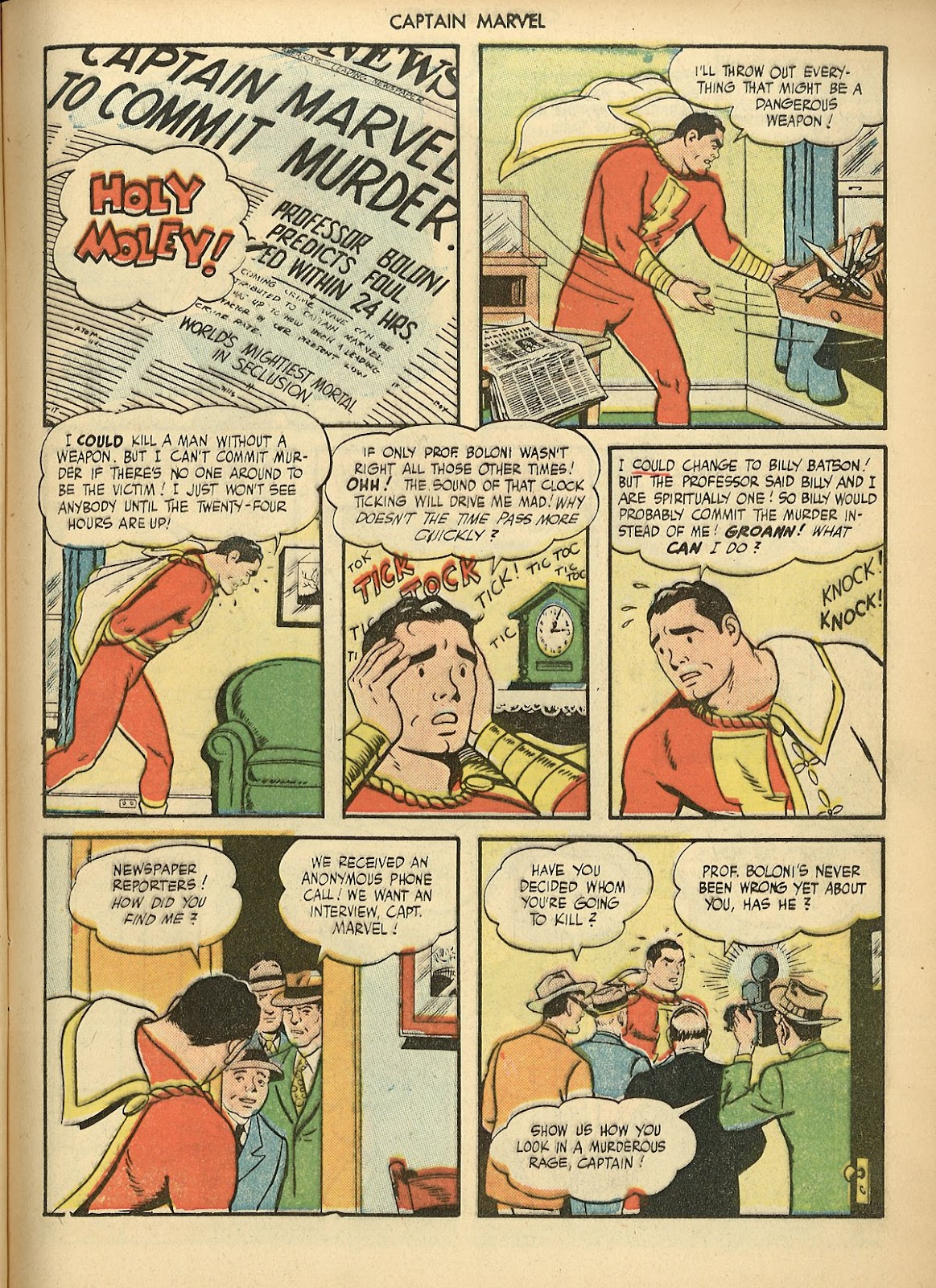 Captain Marvel Adventures issue 70 - Page 9