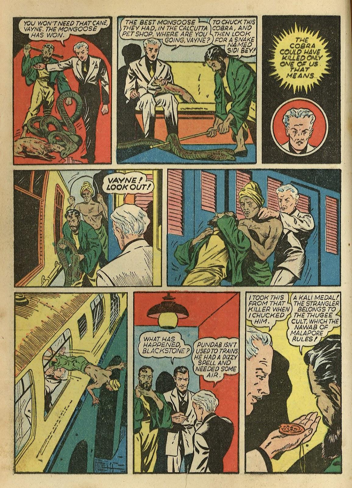 Read online Super-Magician Comics comic -  Issue #1 - 12
