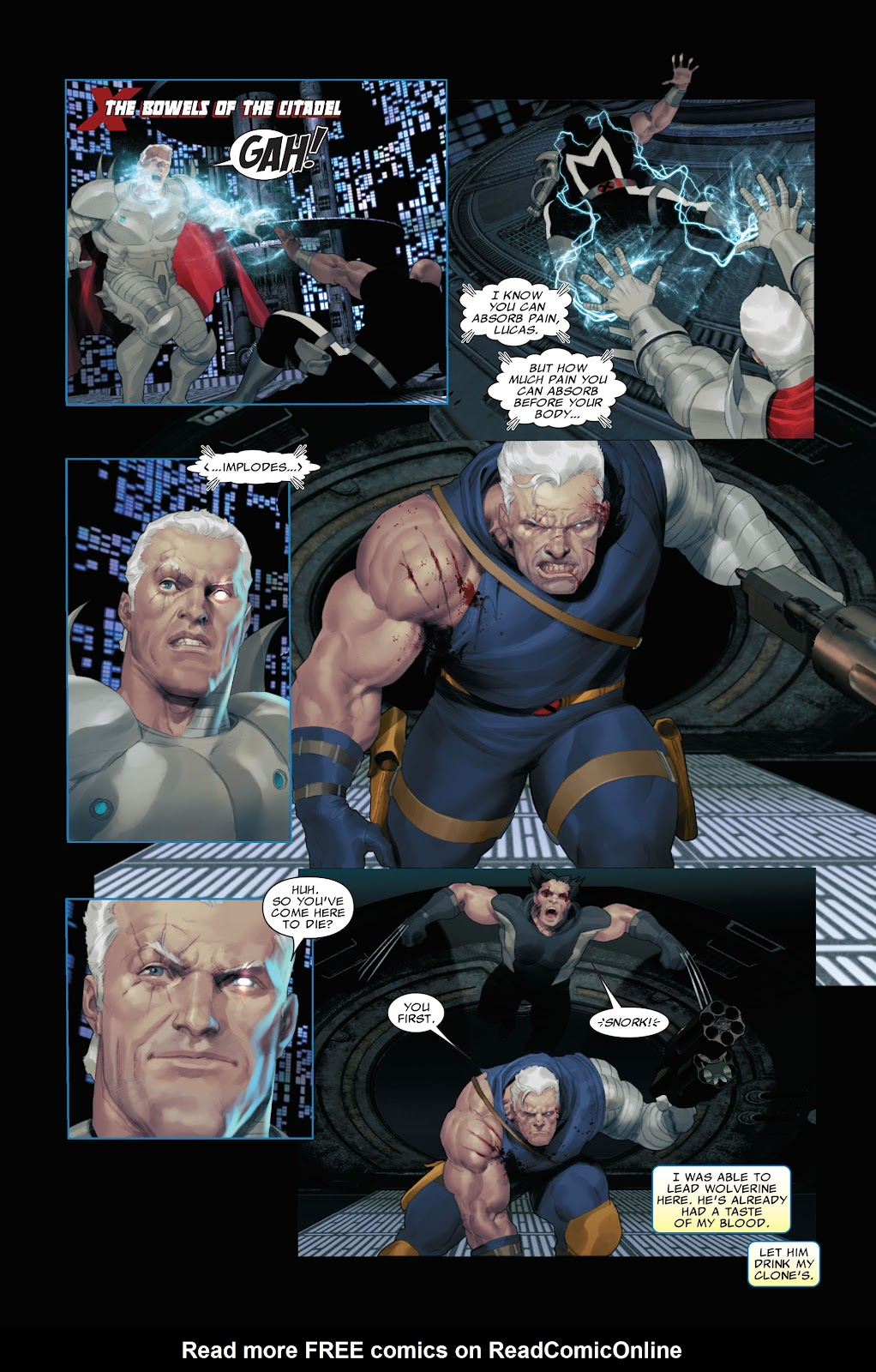 Read online X-Force/Cable: Messiah War comic -  Issue # _TPB (Part 2) - 108