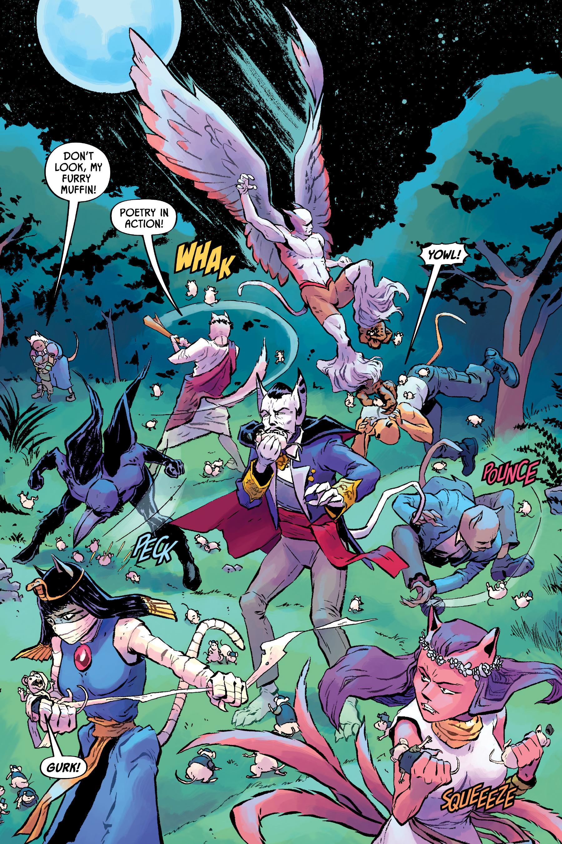 Read online Angel Catbird comic -  Issue # TPB 2 - 50