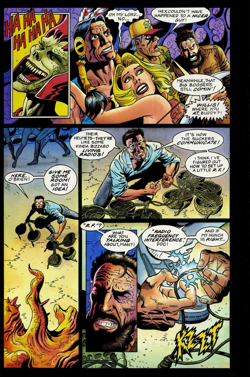Read online Turok, Dinosaur Hunter (1993) comic -  Issue #33 - 16