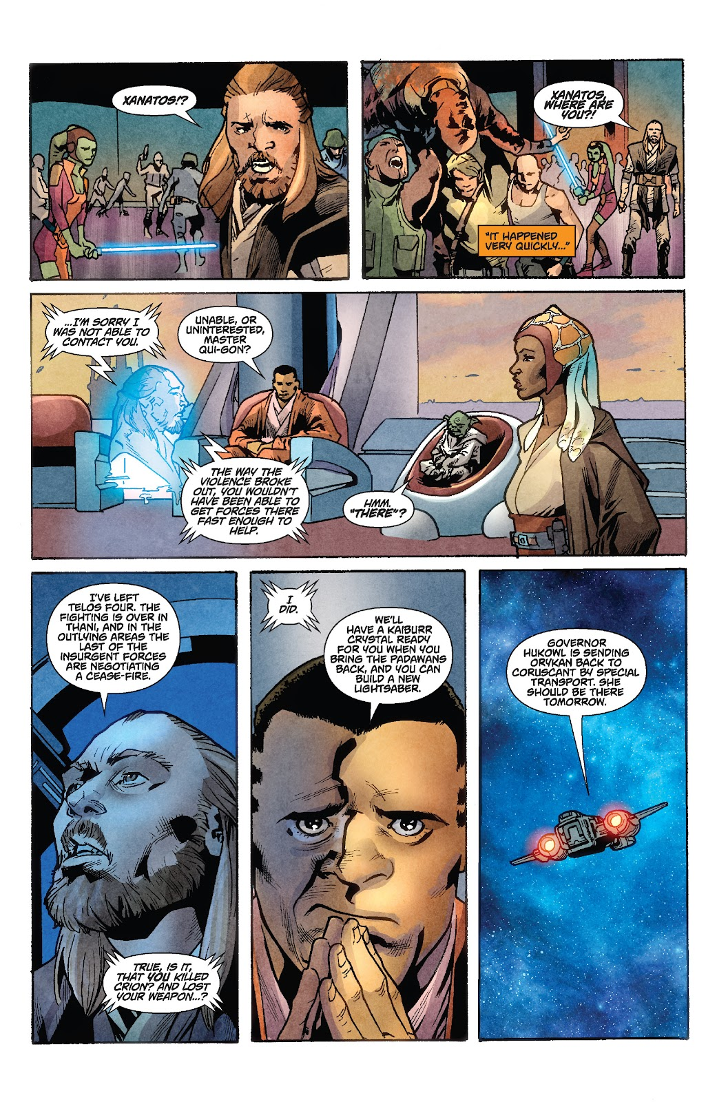 Read online Star Wars Legends: Rise of the Sith - Epic Collection comic -  Issue # TPB 1 (Part 2) - 97