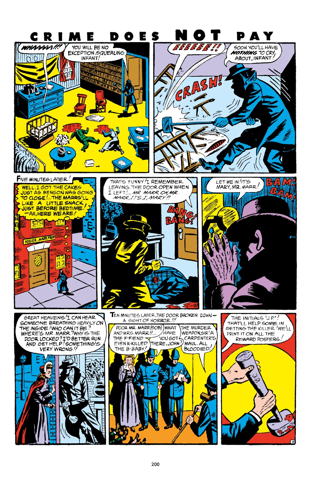 Read online Crime Does Not Pay Archives comic -  Issue # TPB 5 (Part 2) - 100