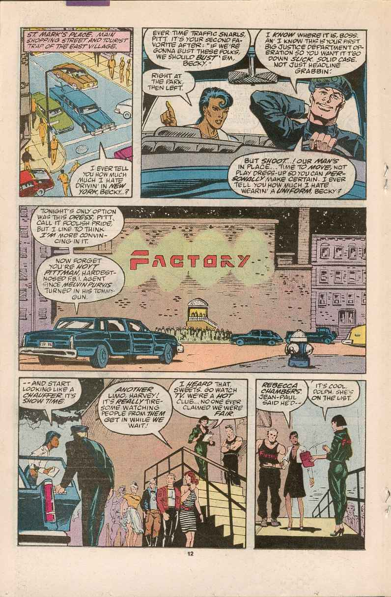 Read online Justice (1986) comic -  Issue #1 - 13