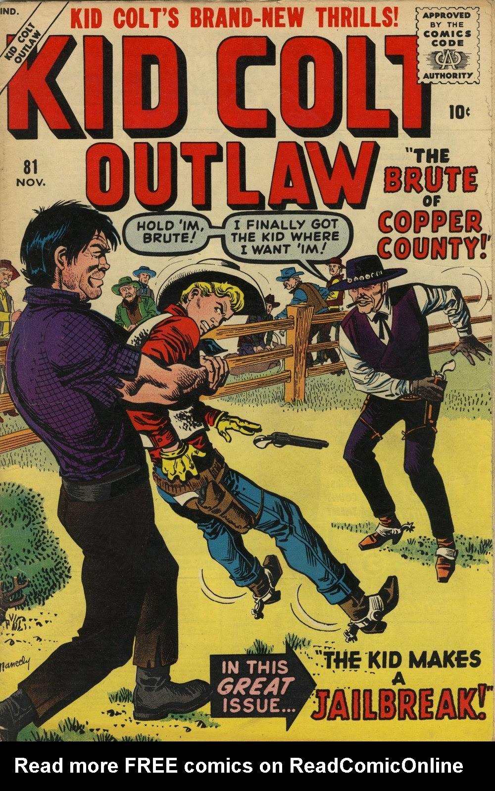 Kid Colt Outlaw issue 81 - Page 1