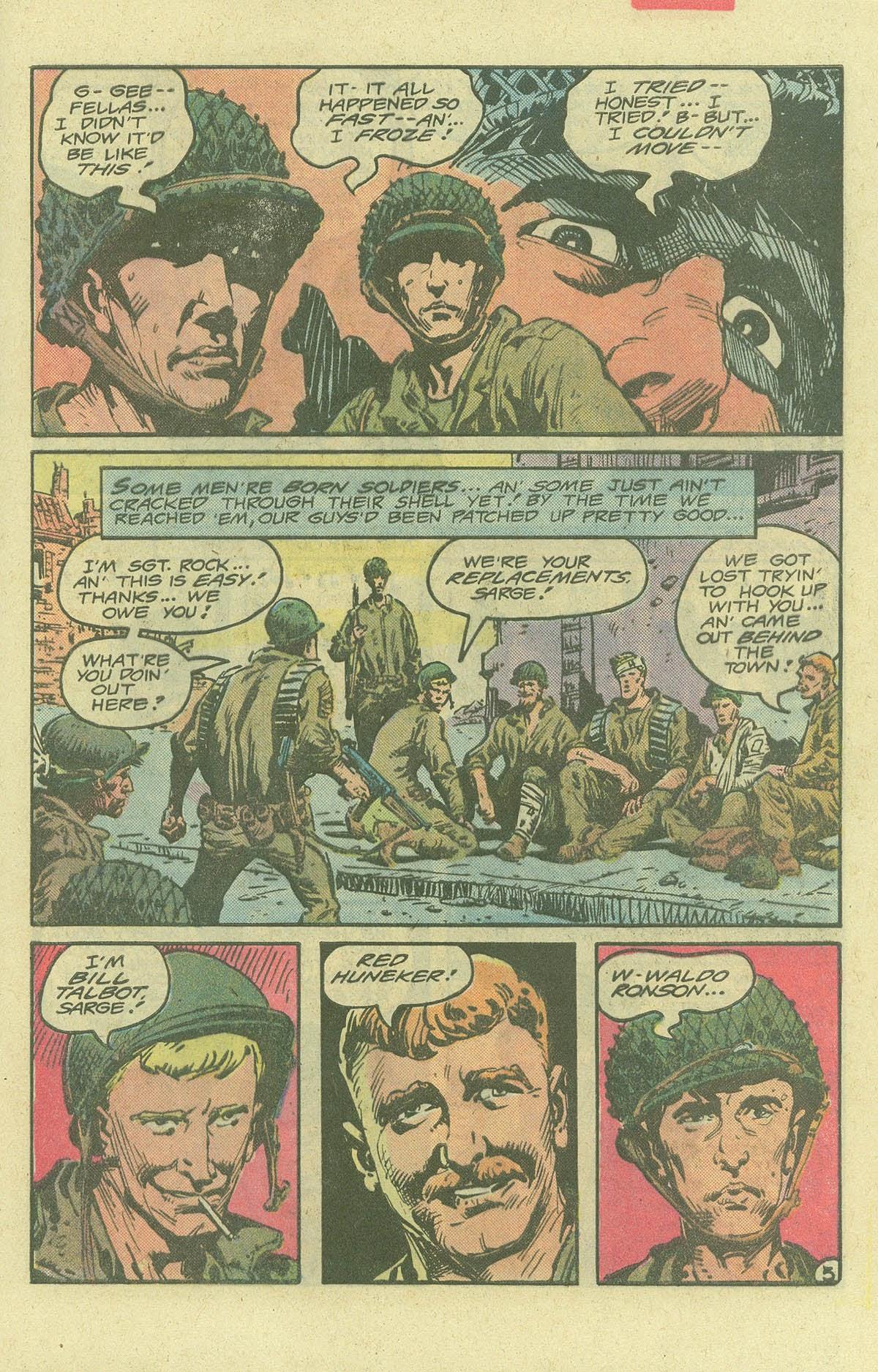 Read online Sgt. Rock comic -  Issue #380 - 8