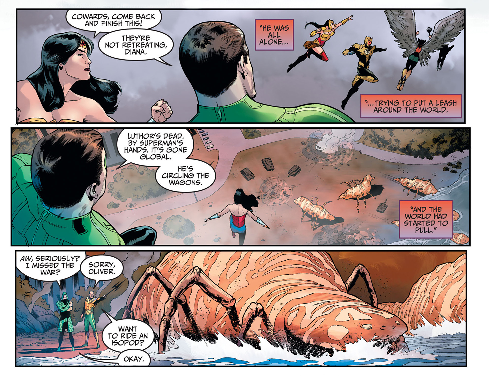Read online Injustice: Ground Zero comic -  Issue #20 - 11