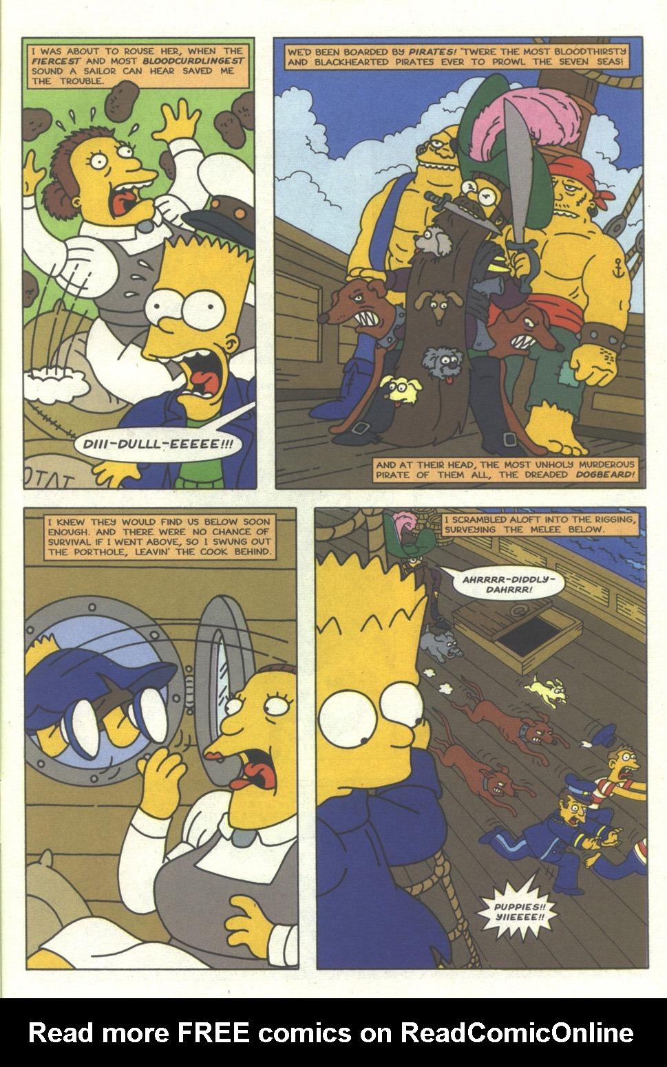 Read online Simpsons Comics comic -  Issue #27 - 28