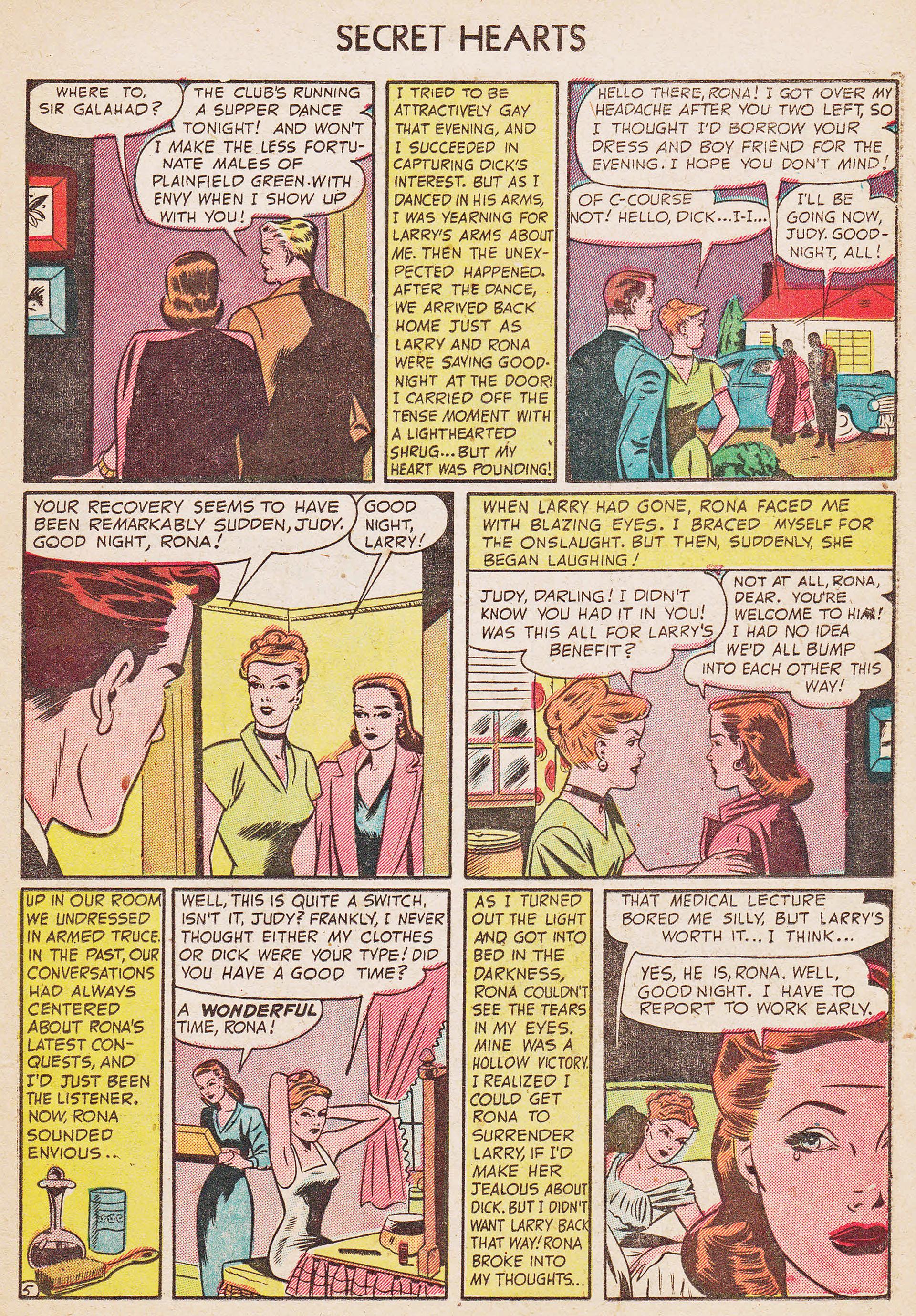 Read online Secret Hearts comic -  Issue #7 - 21