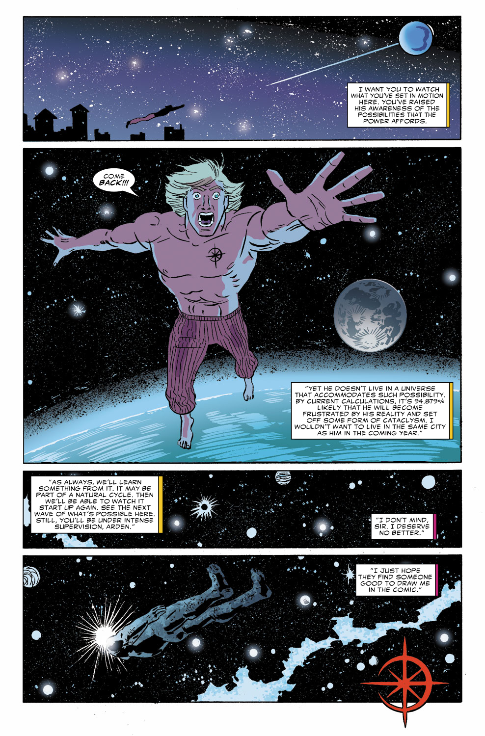Read online Untold Tales Of The New Universe: Star Brand comic -  Issue # Full - 23