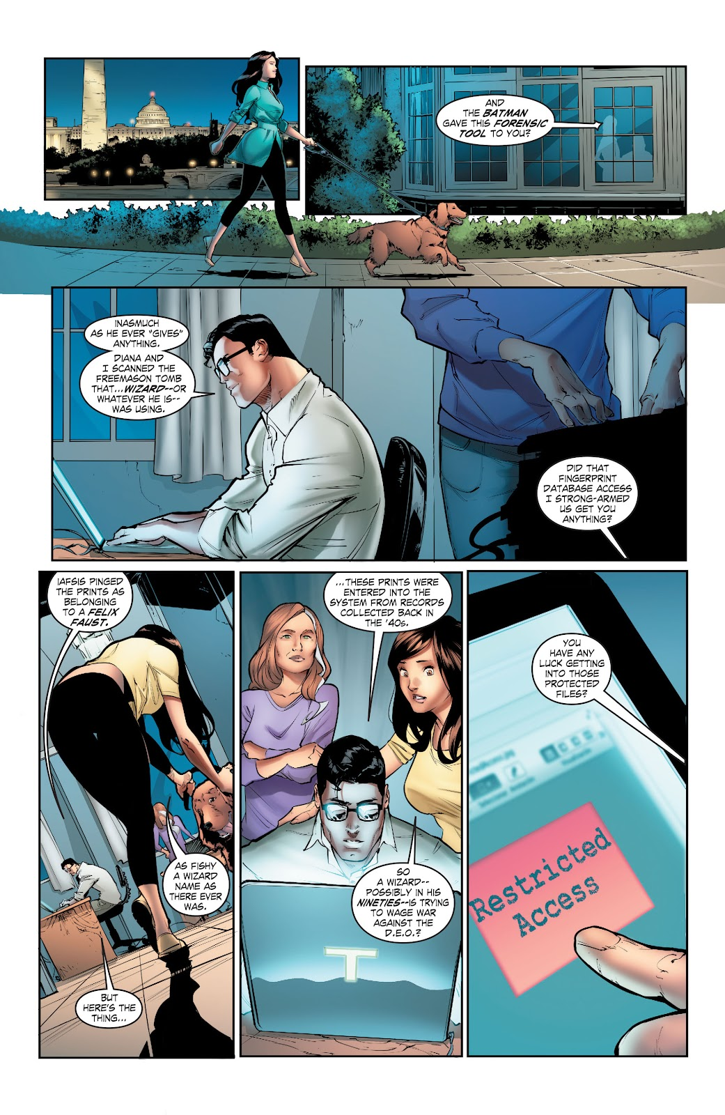 Read online Smallville Season 11 [II] comic -  Issue # TPB 5 - 50