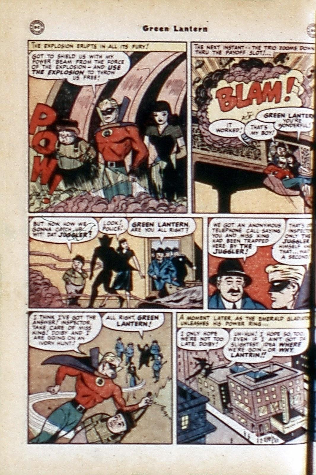 Green Lantern (1941) Issue #32 #32 - English 12
