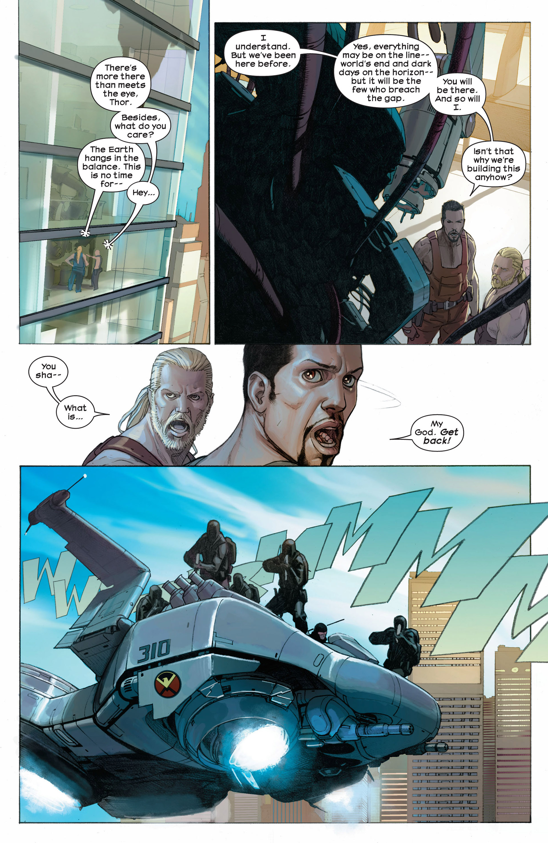 Read online Ultimate Comics Ultimates comic -  Issue #8 - 15