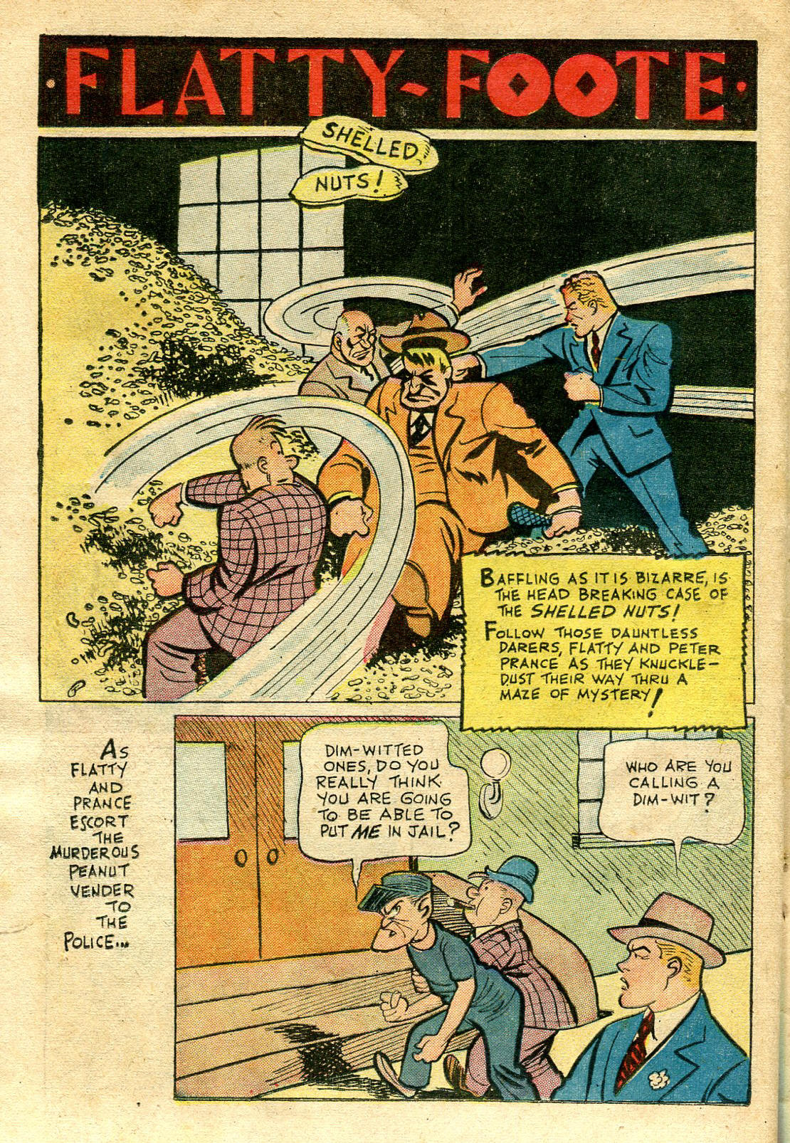 Read online Shadow Comics comic -  Issue #65 - 36