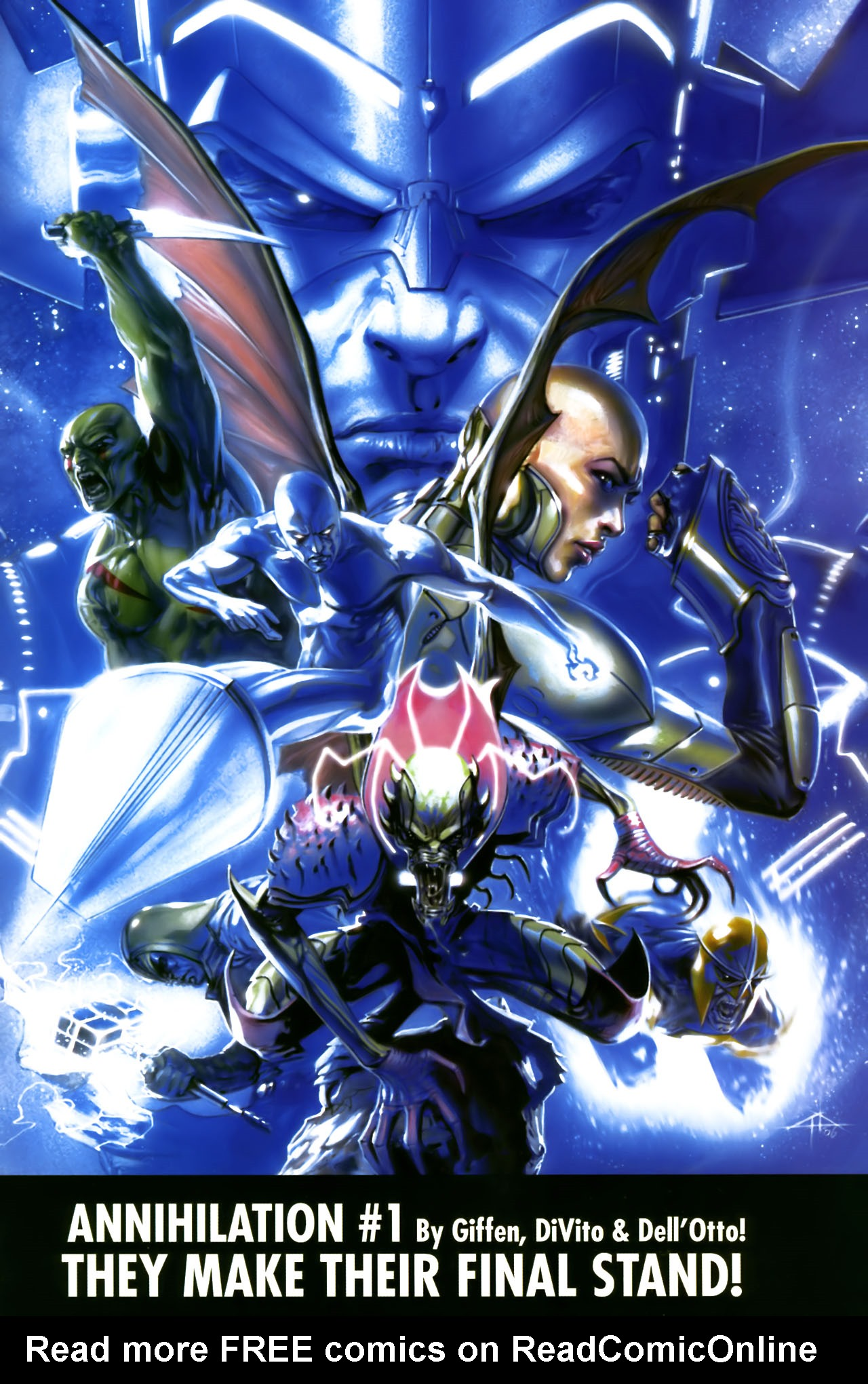 Read online Annihilation:  The  Nova Corps Files comic -  Issue #Annihilation:  The  Nova Corps Files Full - 50