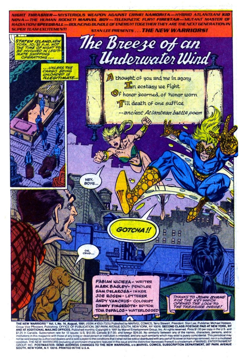The New Warriors Issue #14 #18 - English 2