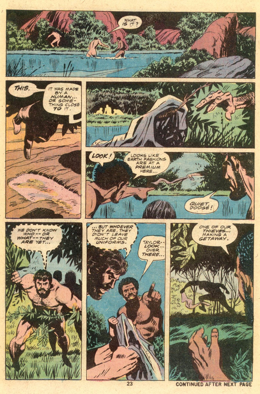 Read online Adventures on the Planet of the Apes comic -  Issue #1 - 16