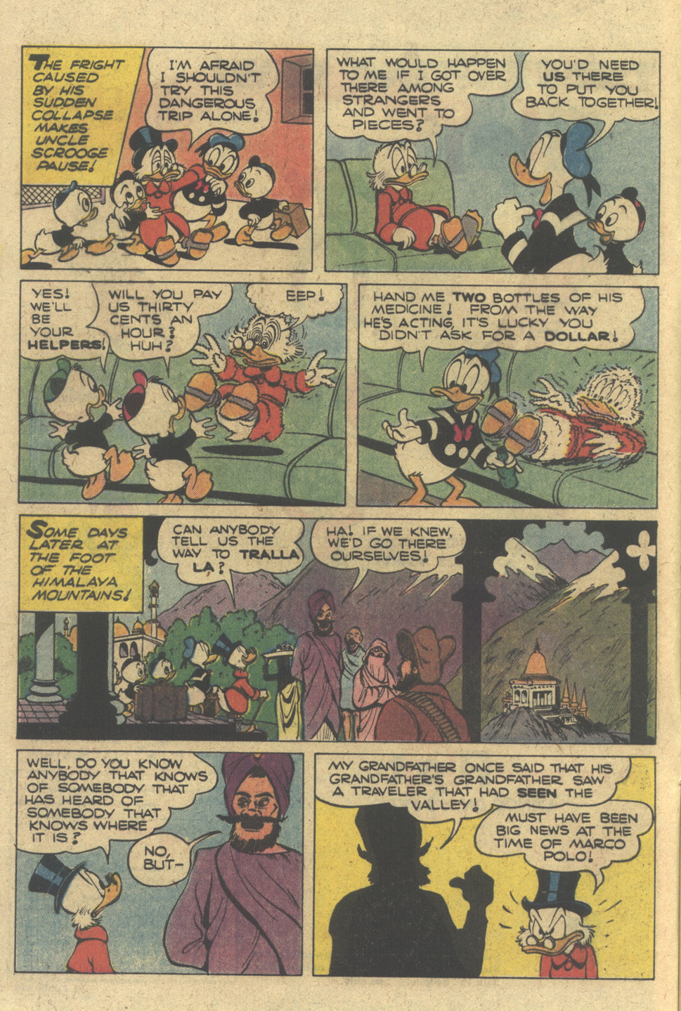 Read online Uncle Scrooge (1953) comic -  Issue #183 - 8