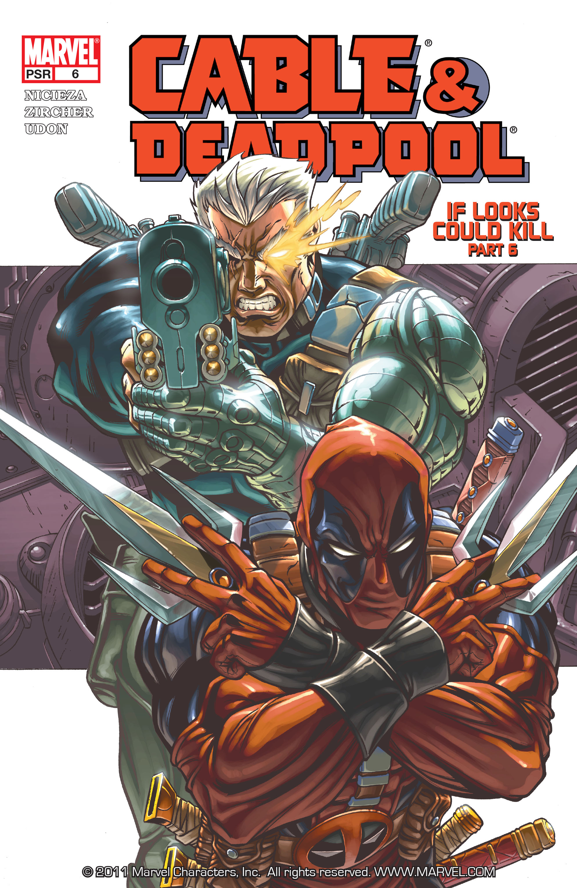 Cable and Deadpool 6 Page 1