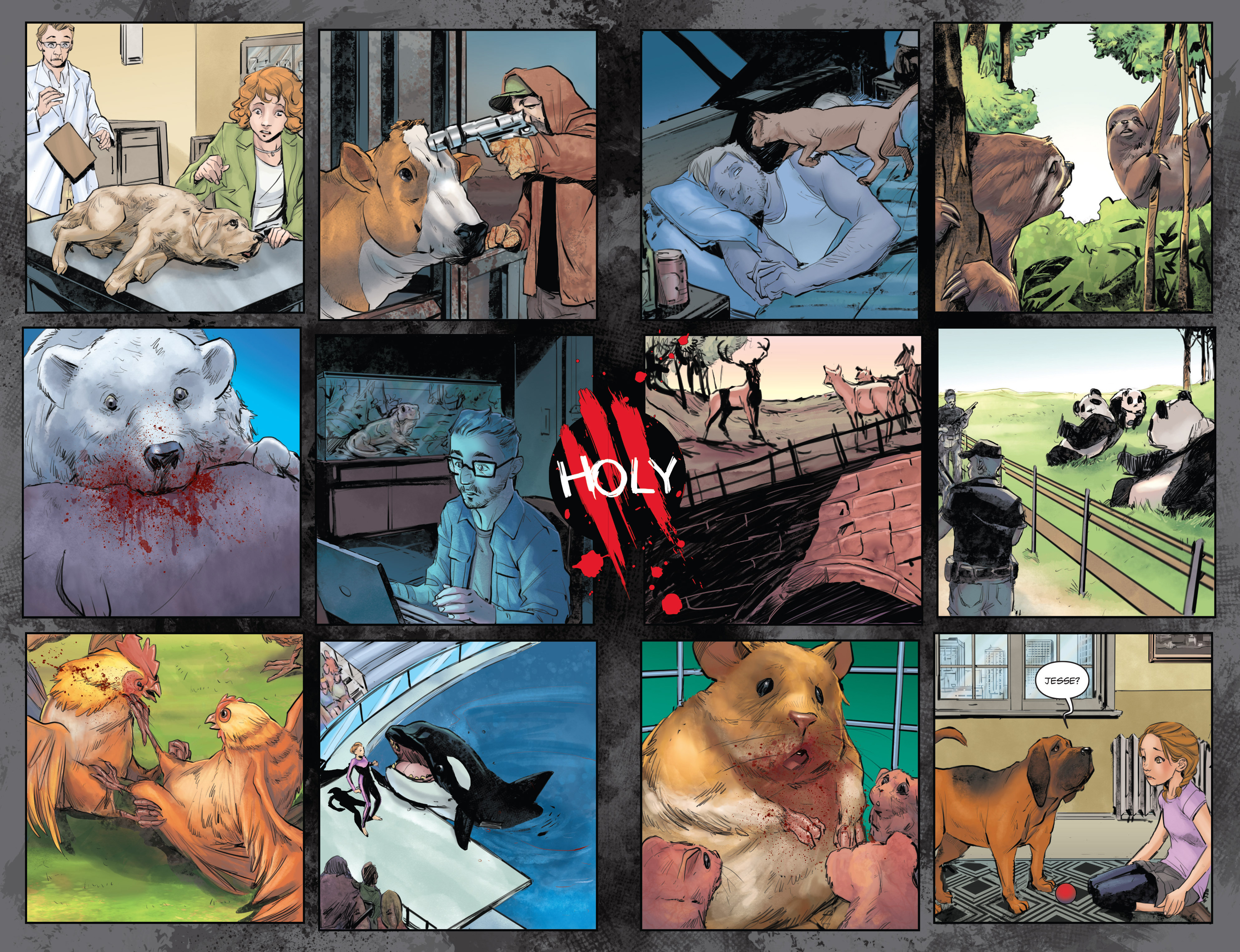 Read online Animosity comic -  Issue #1 - 7