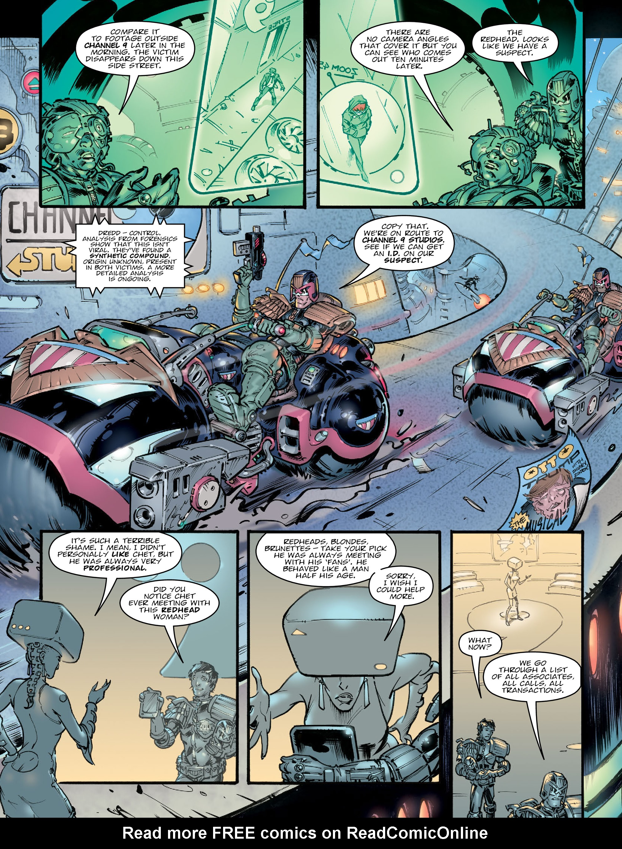 Read online 2000 AD comic -  Issue #2020 - 6