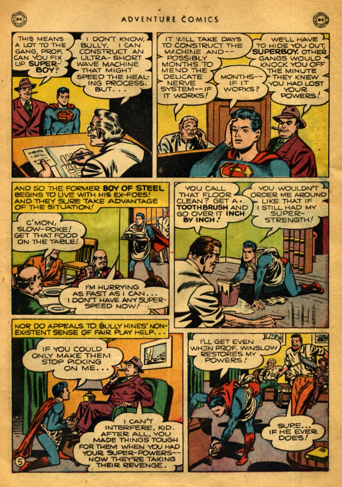Read online Adventure Comics (1938) comic -  Issue #141 - 7