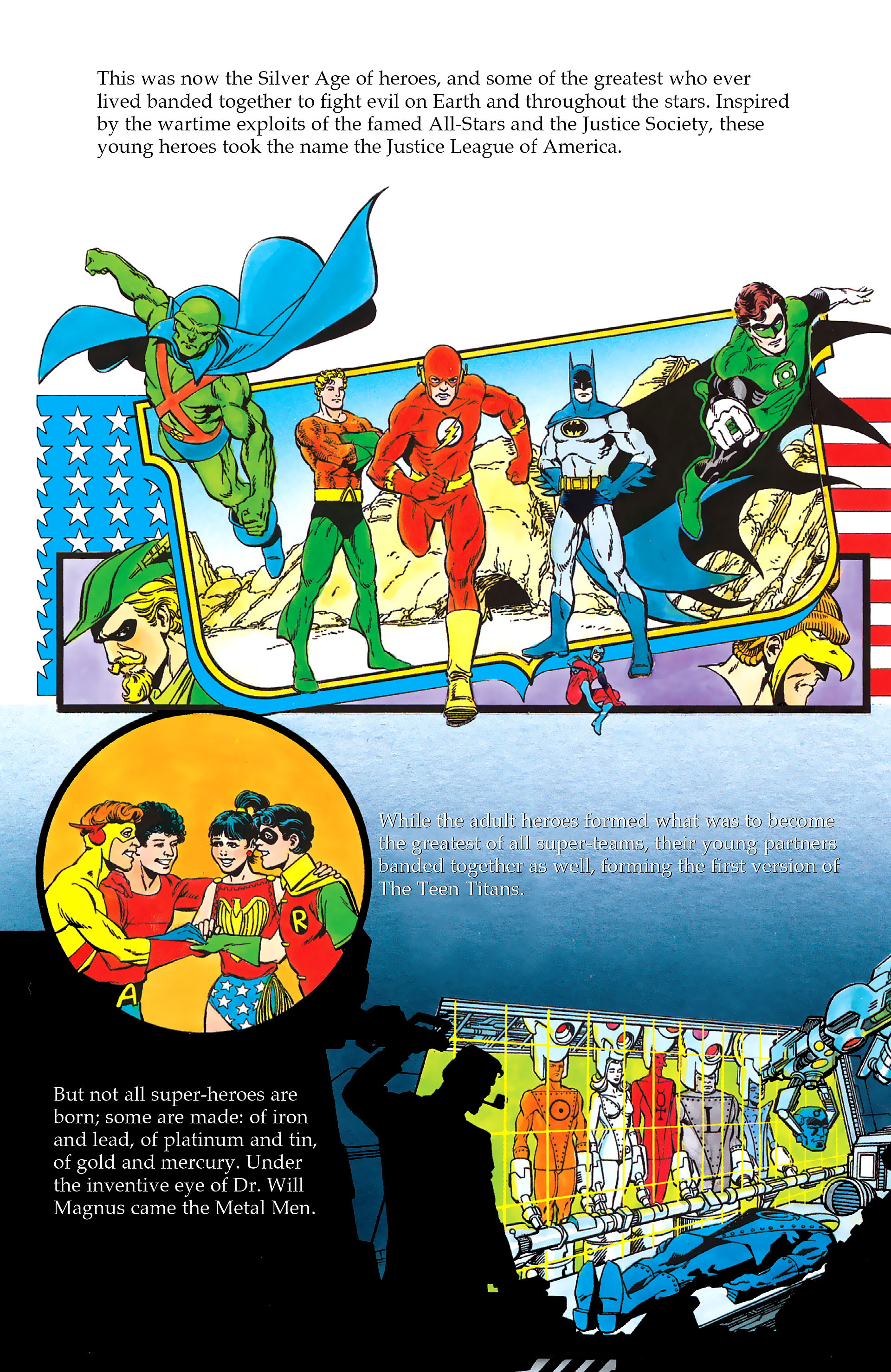 Read online History of the DC Universe comic -  Issue #2 - 20