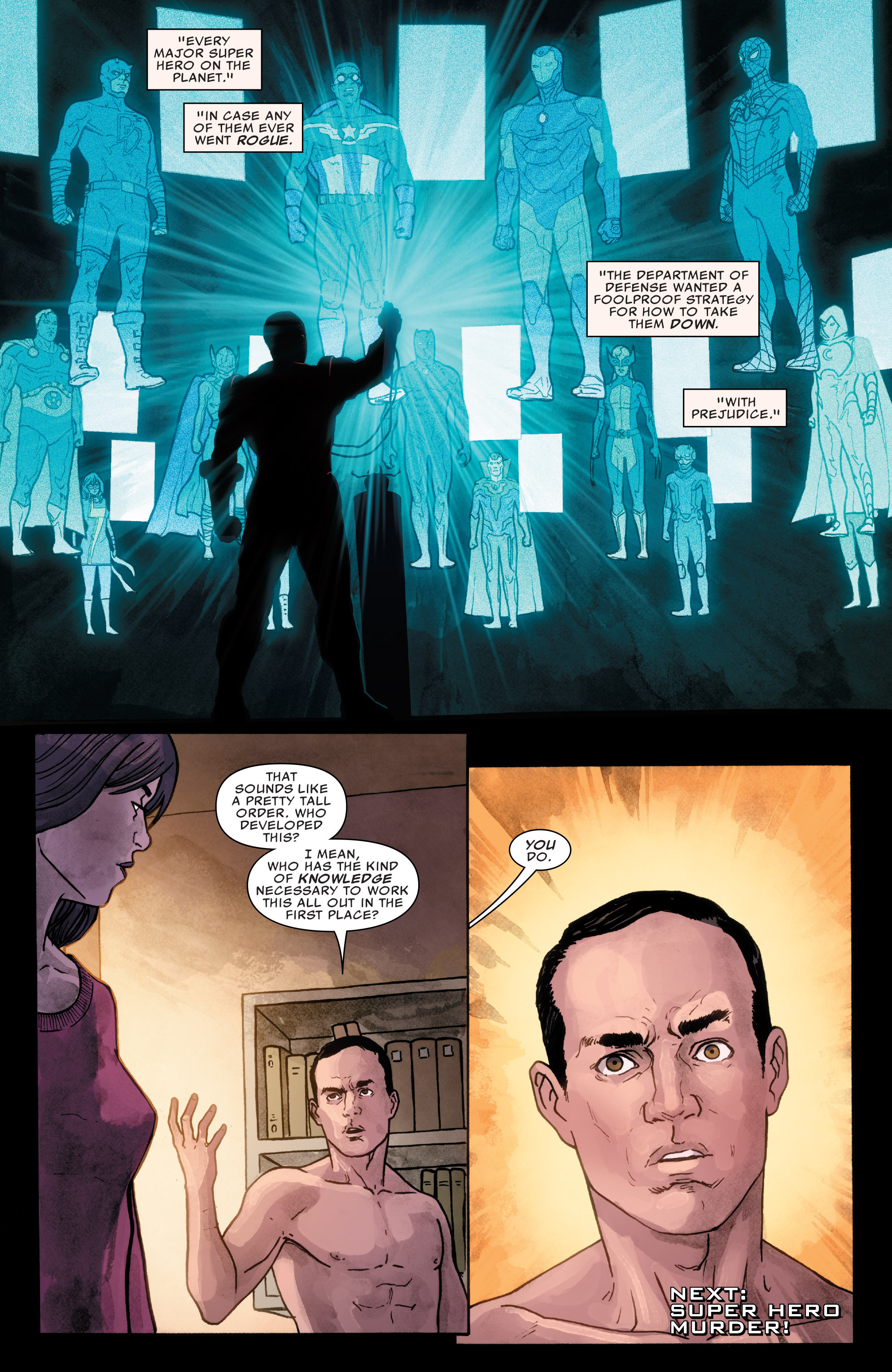 Read online Agents of S.H.I.E.L.D. comic -  Issue #1 - 22