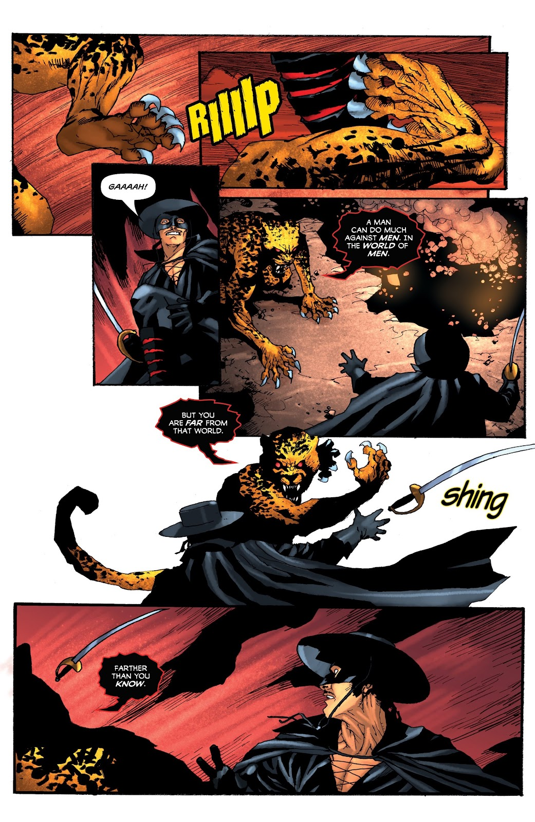 Read online Zorro: Swords of Hell comic -  Issue #4 - 11