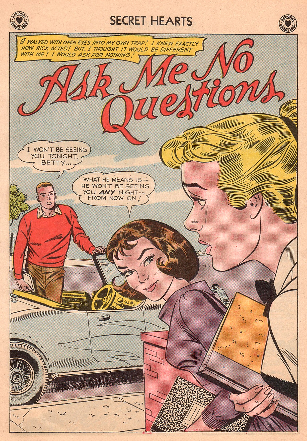 Read online Secret Hearts comic -  Issue #74 - 27