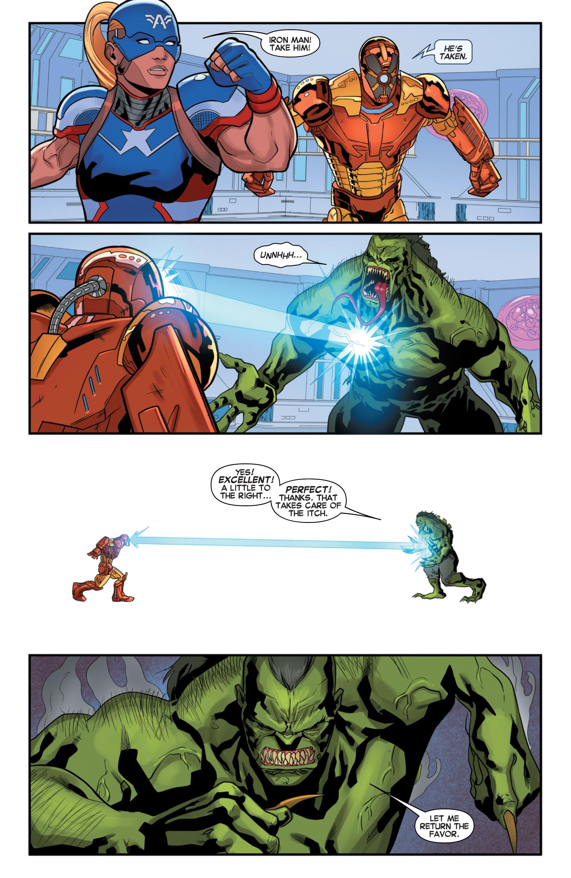 Read online Secret Wars 2099 comic -  Issue #2 - 20