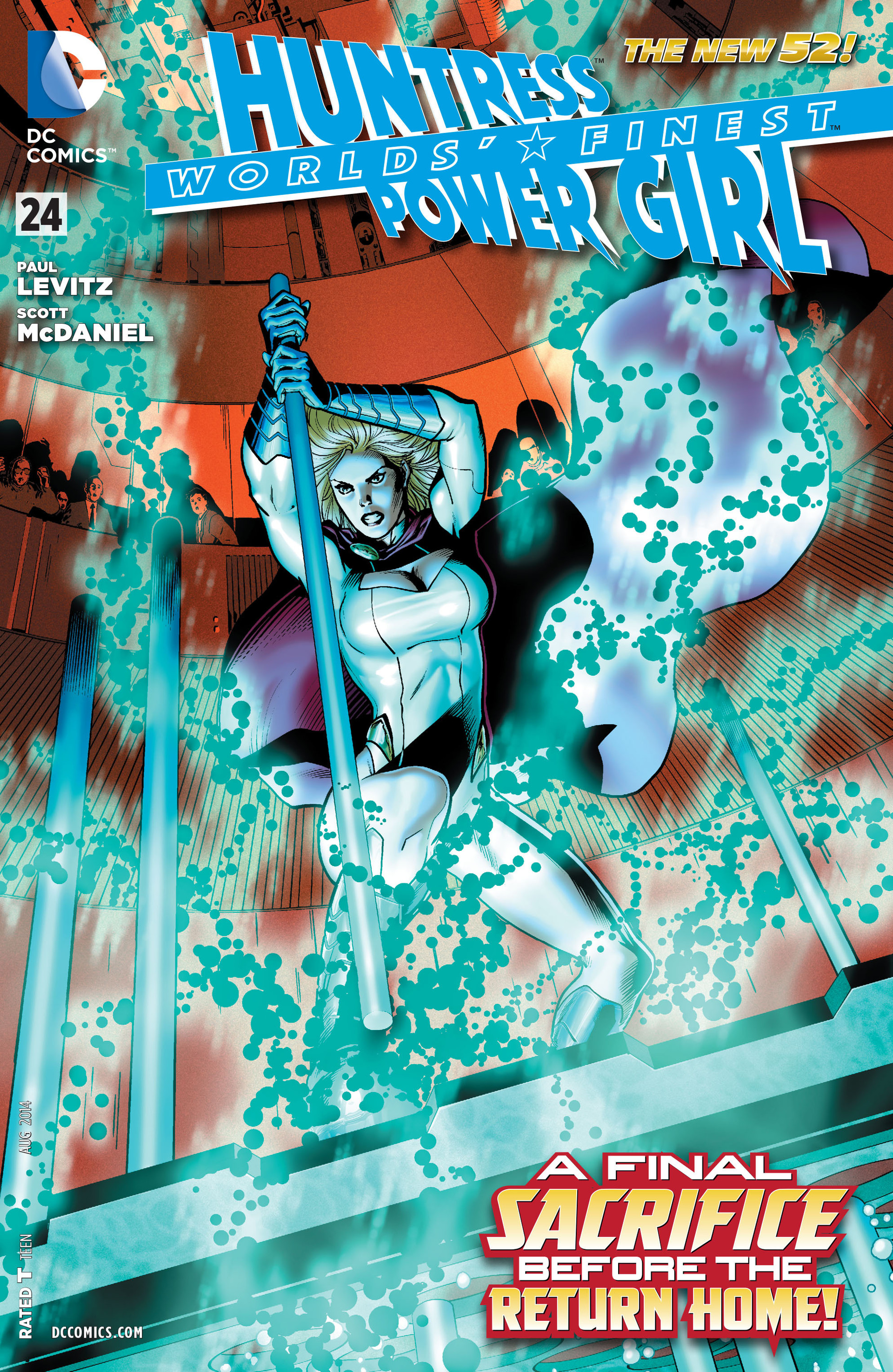 Read online Worlds' Finest comic -  Issue #24 - 1