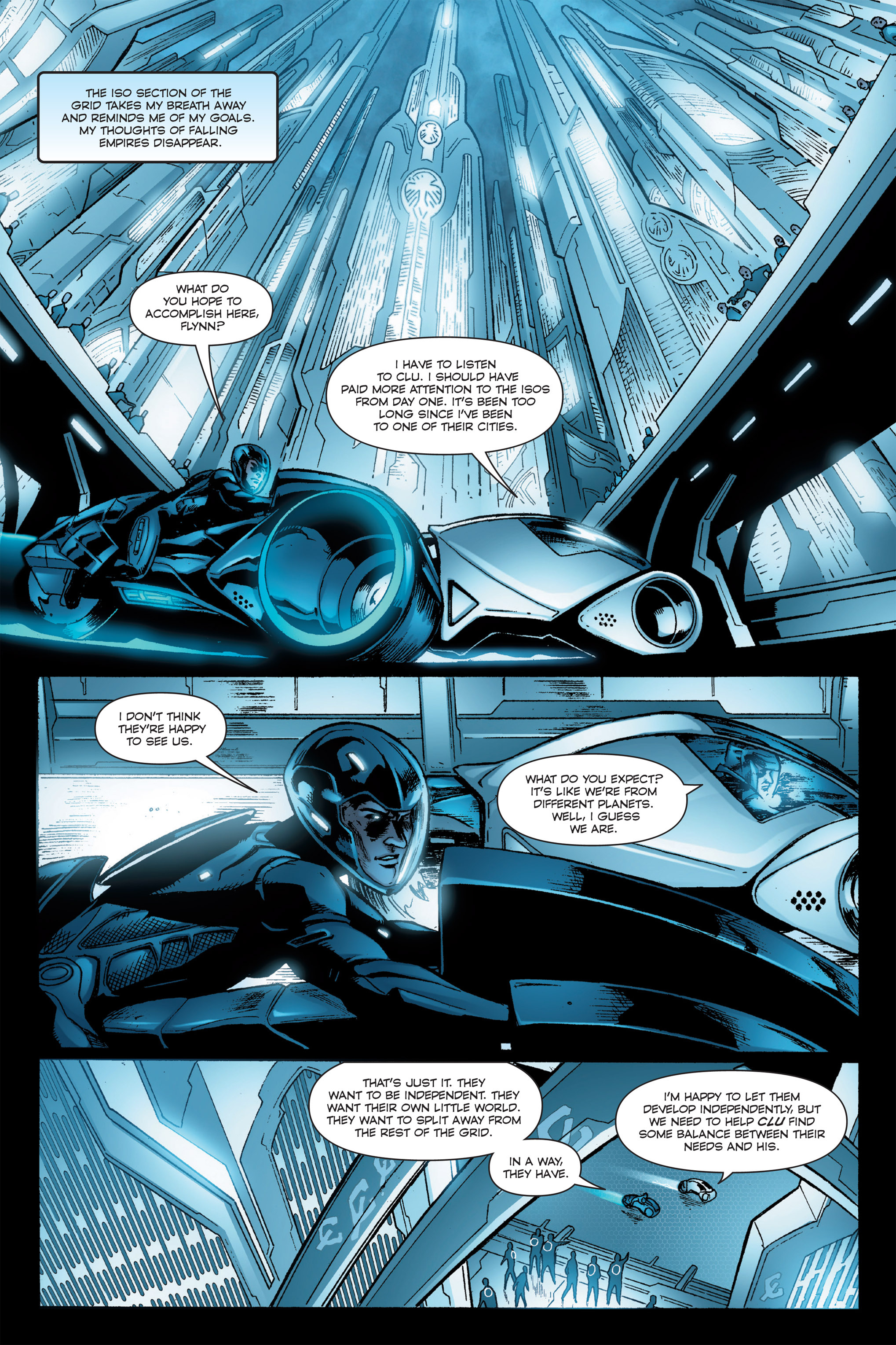 Read online TRON: Betrayal comic -  Issue # TPB - 71