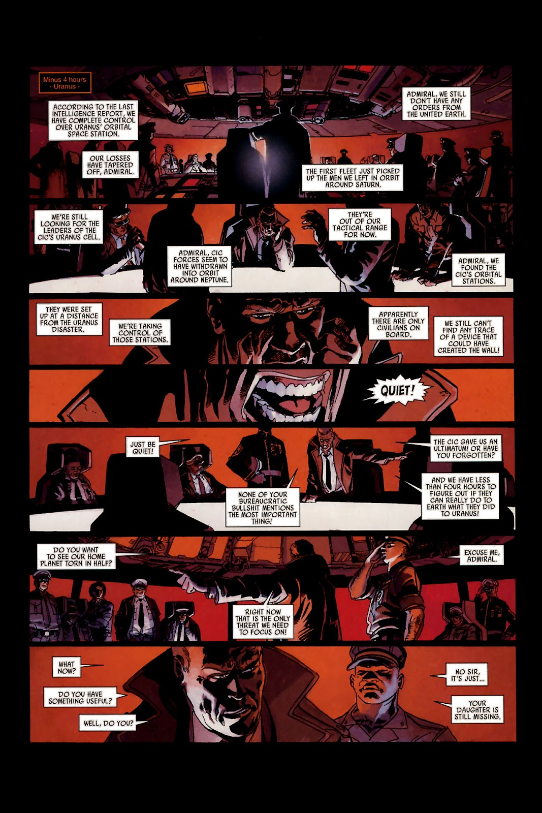 Read online Universal War One: Revelations comic -  Issue #1 - 20